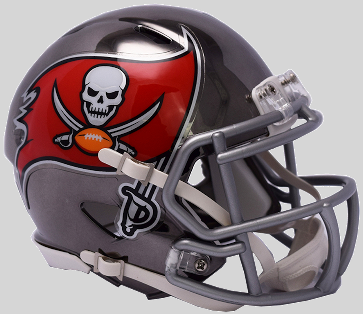Tampa Bay Buccaneers Speed Chrome Authentic Helmet <B>NEW 2018</B>