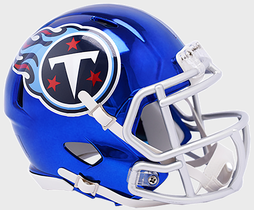 Tennessee Titans Speed Chrome Authentic Helmet <B>NEW 2018</B>