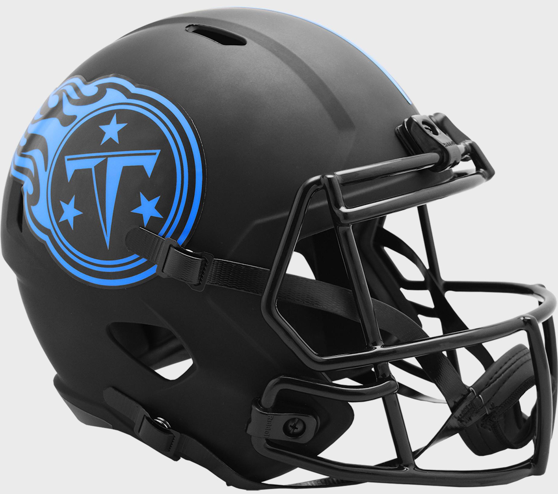 Tennessee Titans Speed Replica Football Helmet <B>ECLIPSE </B>