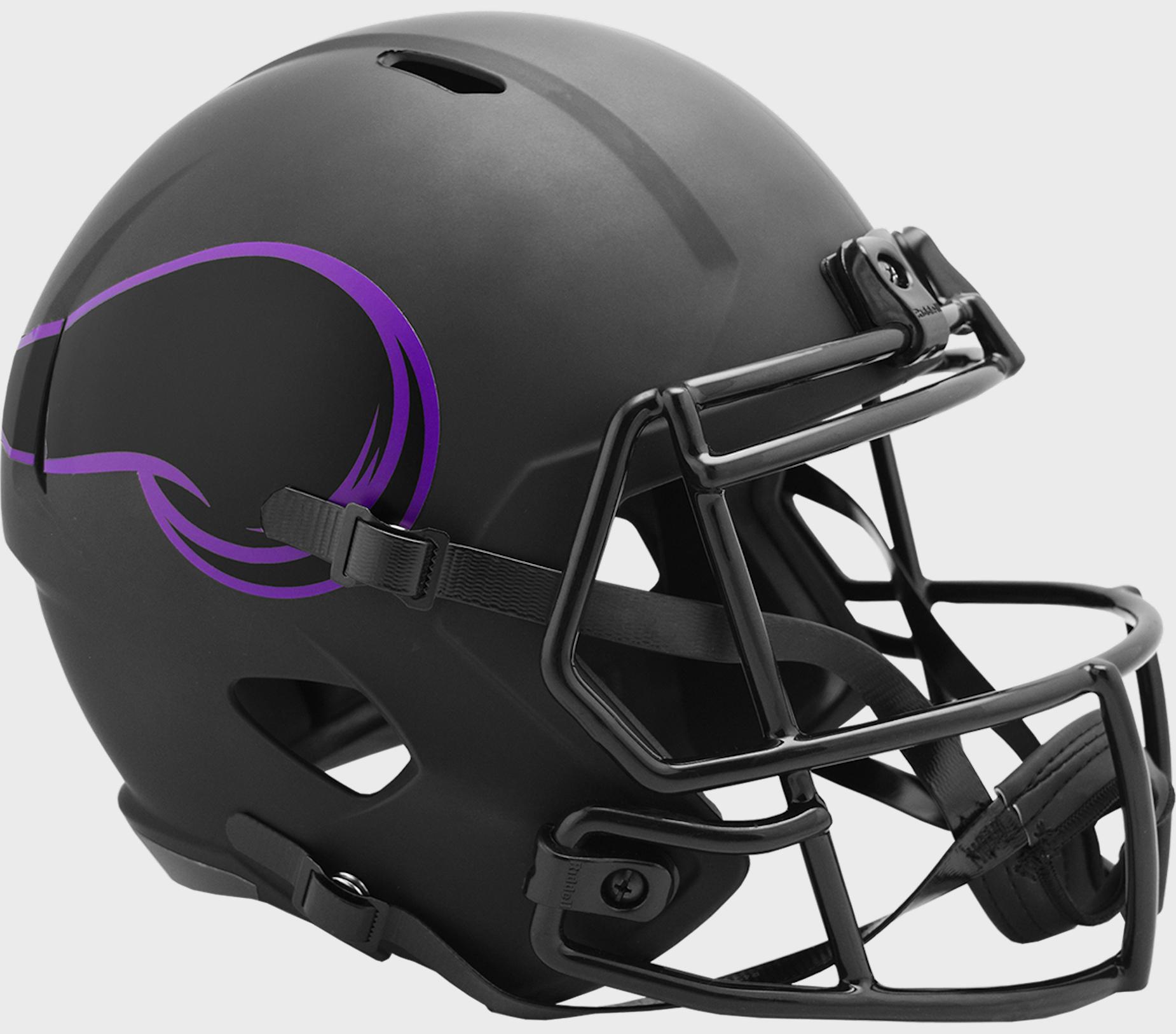 Minnesota Vikings Speed Replica Football Helmet <B>ECLIPSE</B>