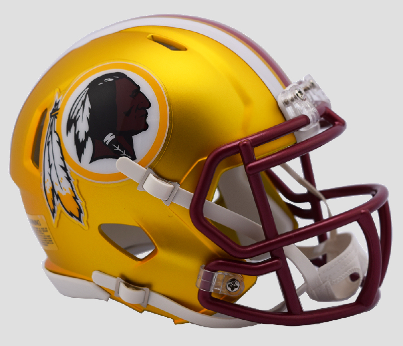 Washington Redskins  BLAZE Speed Mini Football Helmet <B>2017 BLAZE</B>