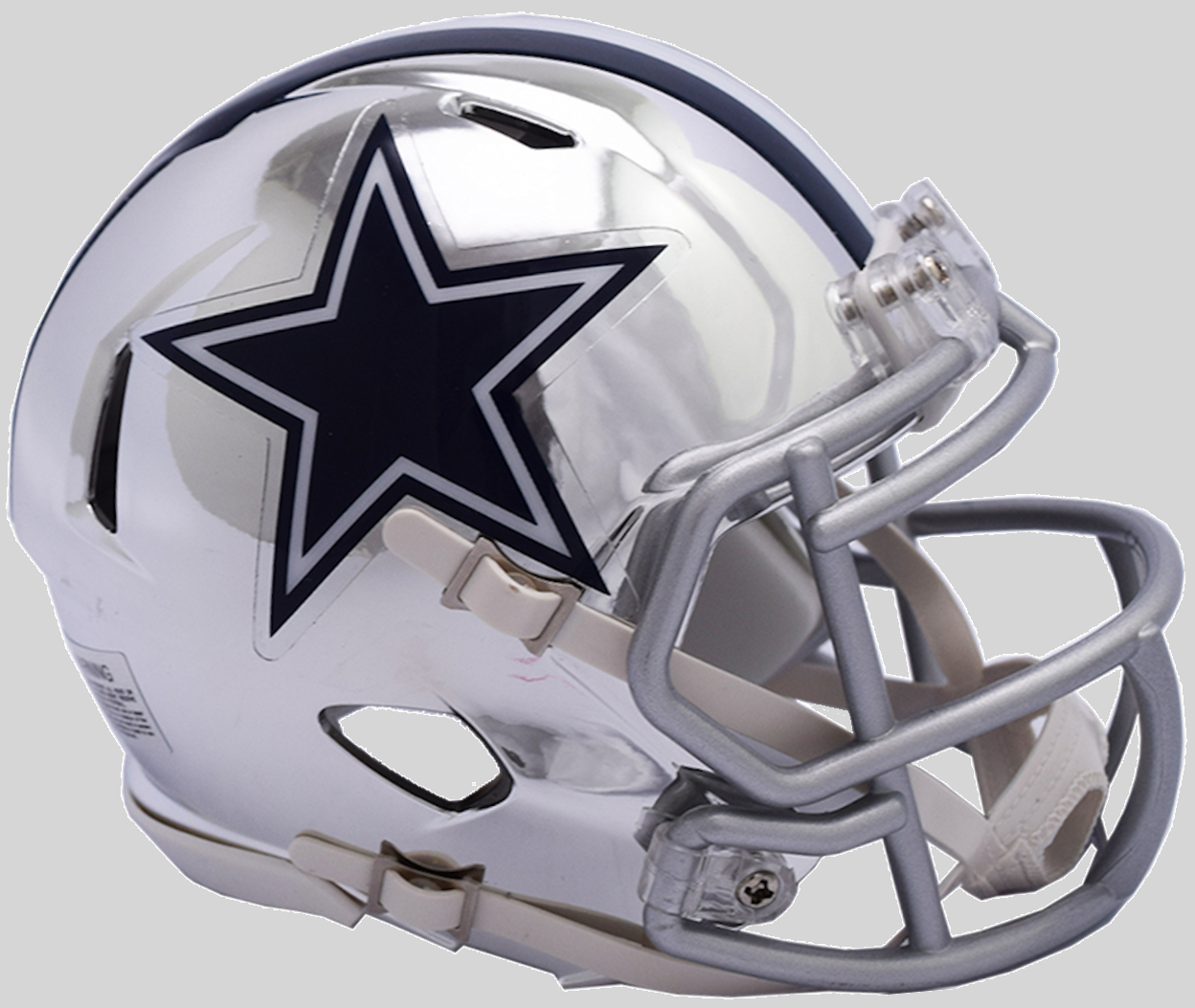 Dallas Cowboys NFL Mini Chrome Speed Football Helmet <B>NEW 2018</B>