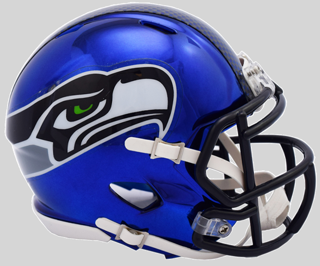 Seattle Seahawks NFL Mini Chrome Speed Football Helmet <B>NEW 2018</B>