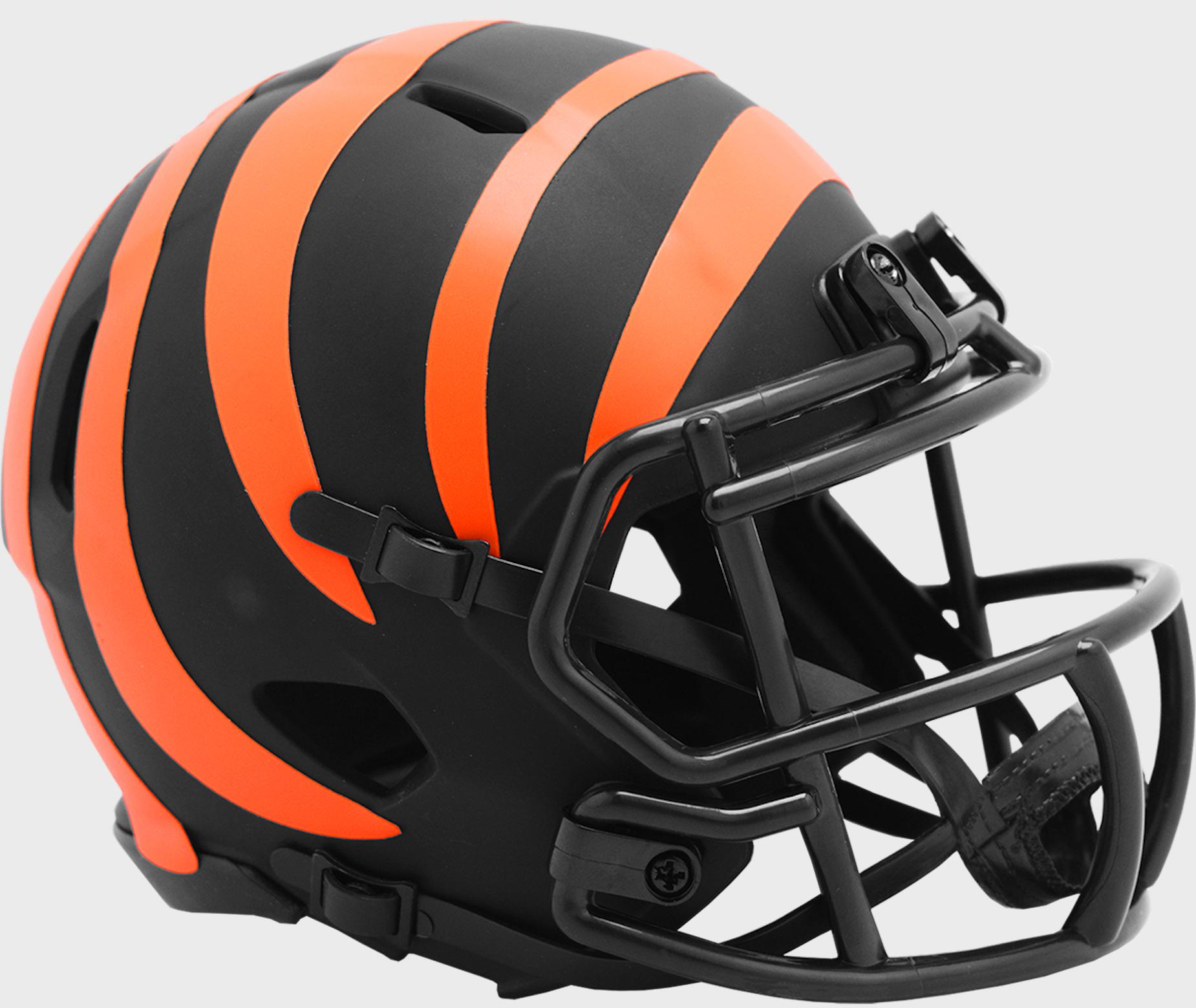 Cincinnati Bengals NFL Mini Speed Football Helmet <B>ECLIPSE</B>