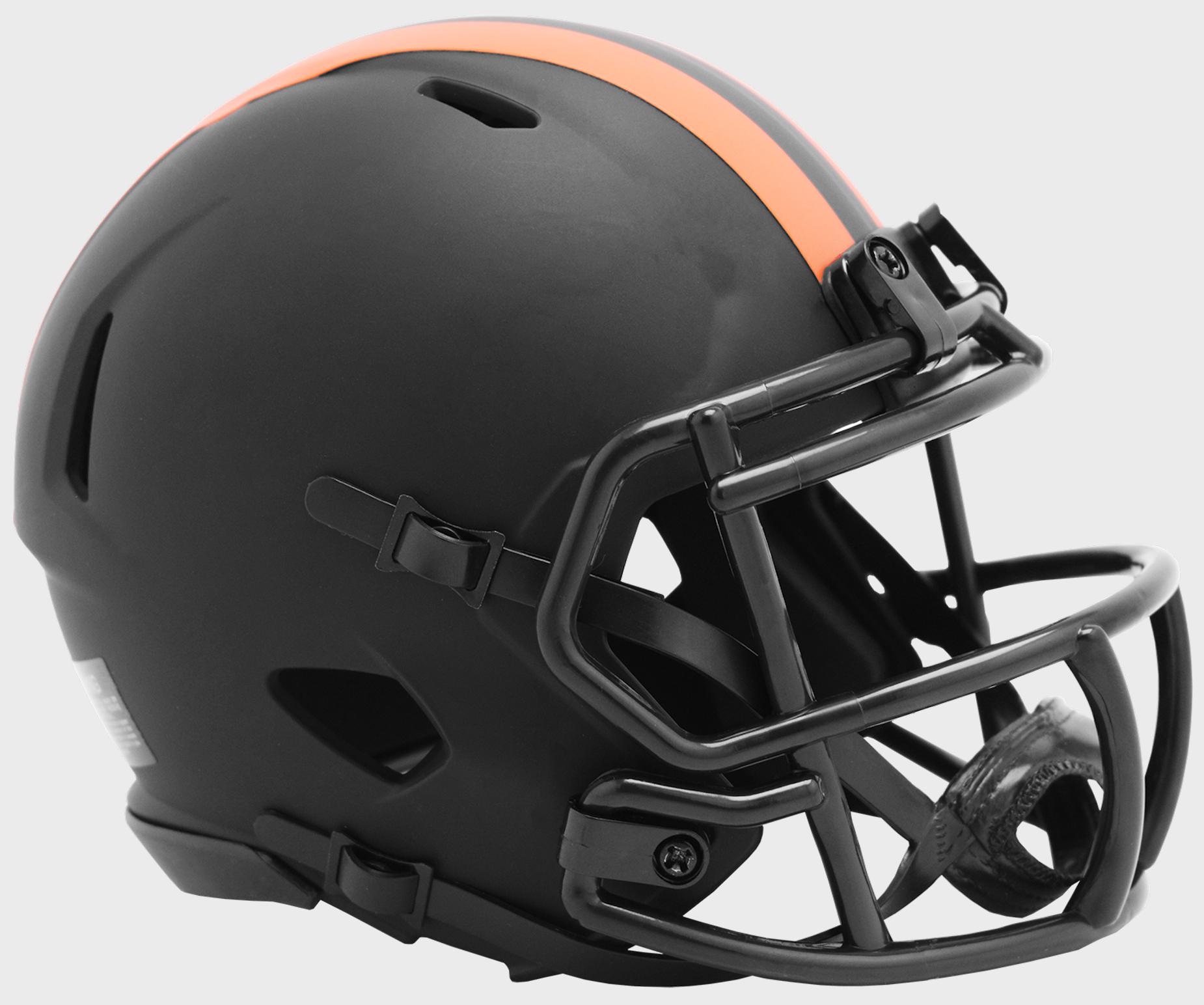 Cleveland Browns NFL Mini Speed Football Helmet <B>ECLIPSE</B>