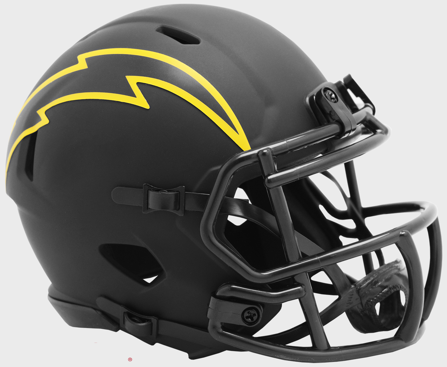 Los Angeles Chargers NFL Mini Speed Football Helmet <B>ECLIPSE</B>