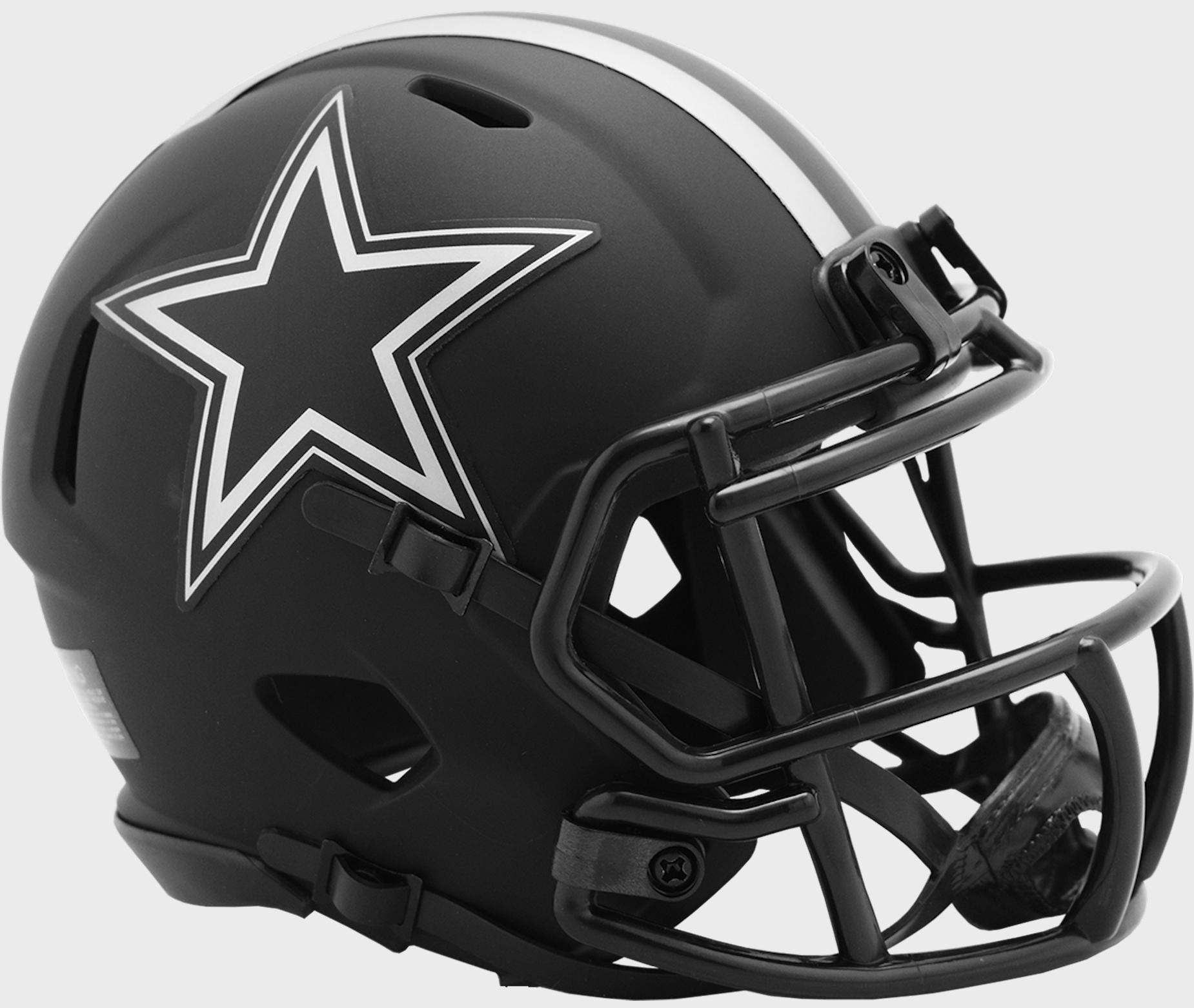Dallas Cowboys NFL Mini Speed Football Helmet <B>ECLIPSE</B>