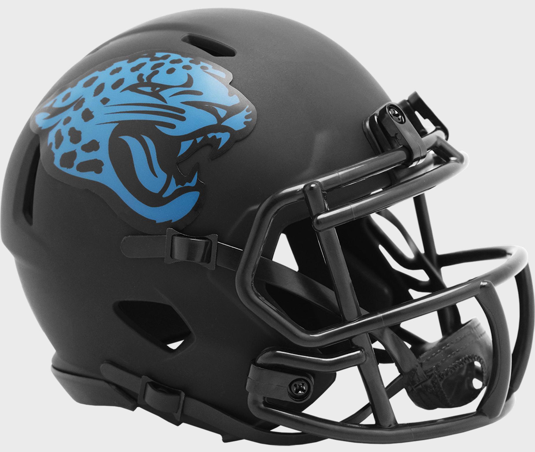 Jacksonville Jaguars NFL Mini Speed Football Helmet <B>ECLIPSE</B>