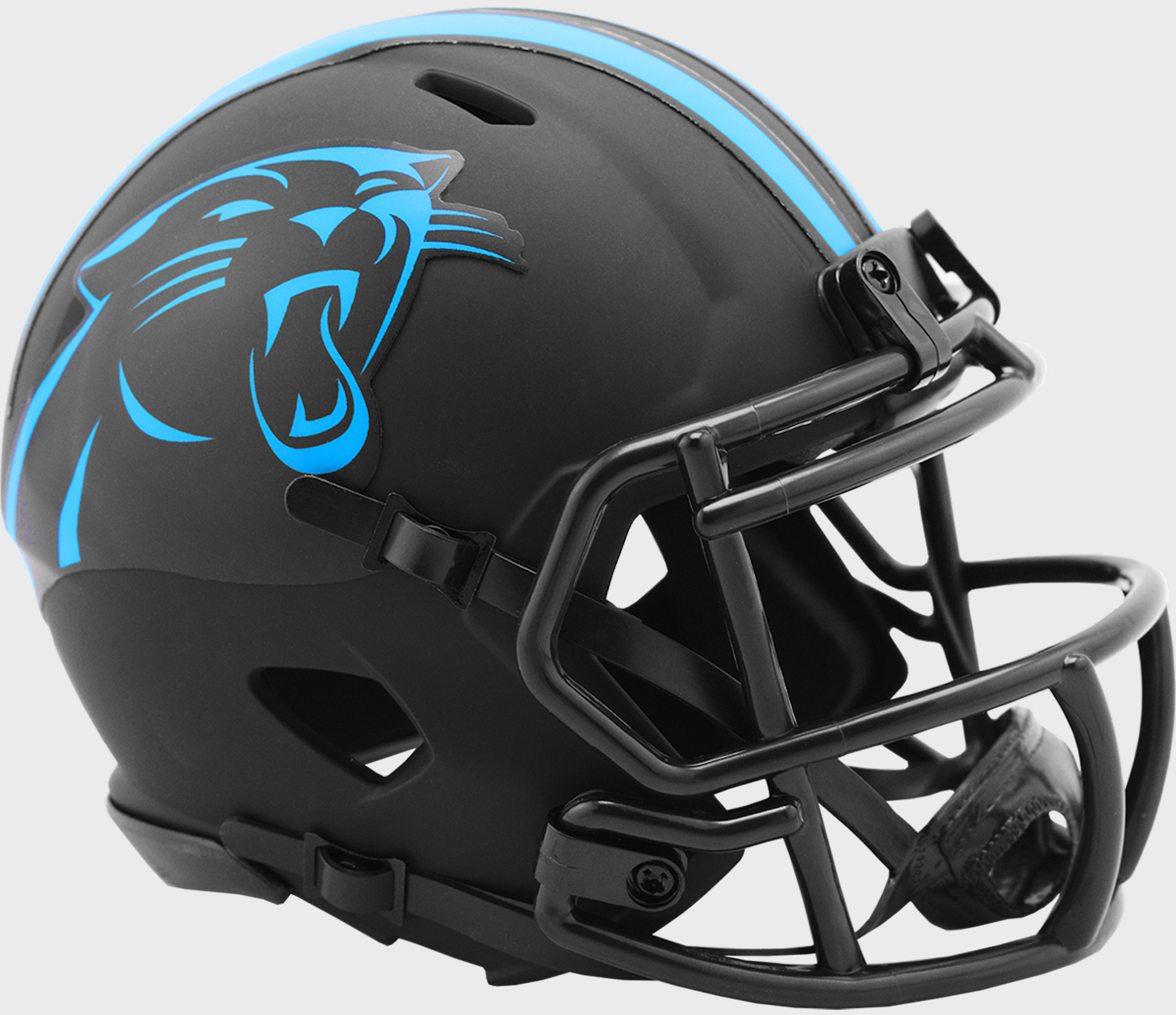 Carolina Panthers NFL Mini Speed Football Helmet <B>ECLIPSE</B>