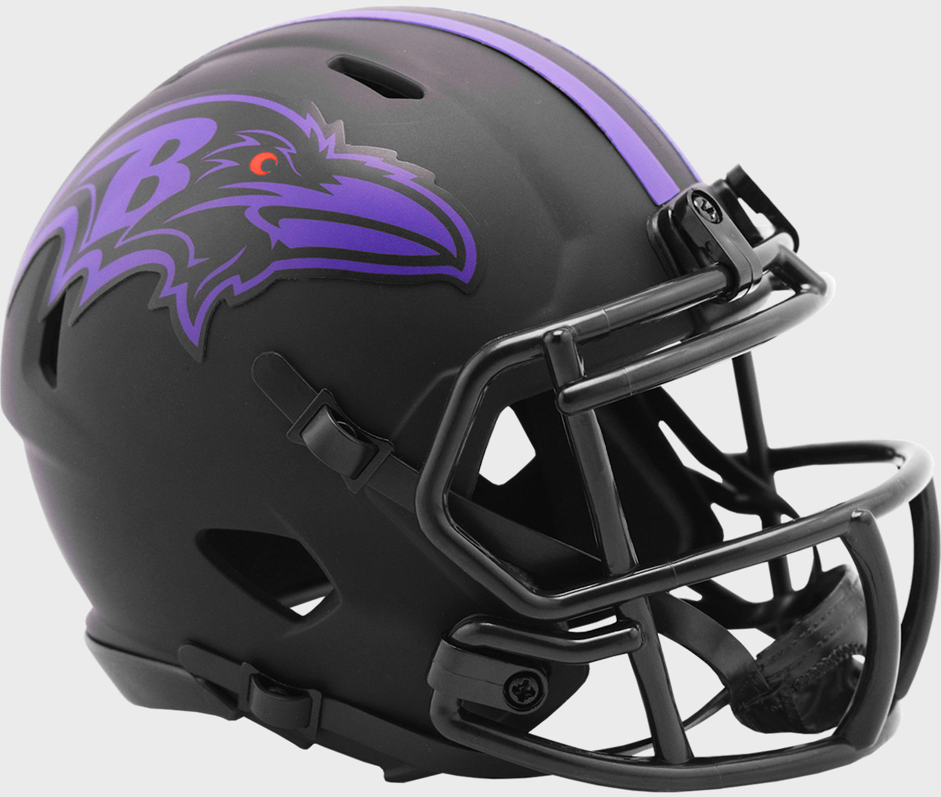 Baltimore Ravens NFL Mini Speed Football Helmet <B>ECLIPSE</B>