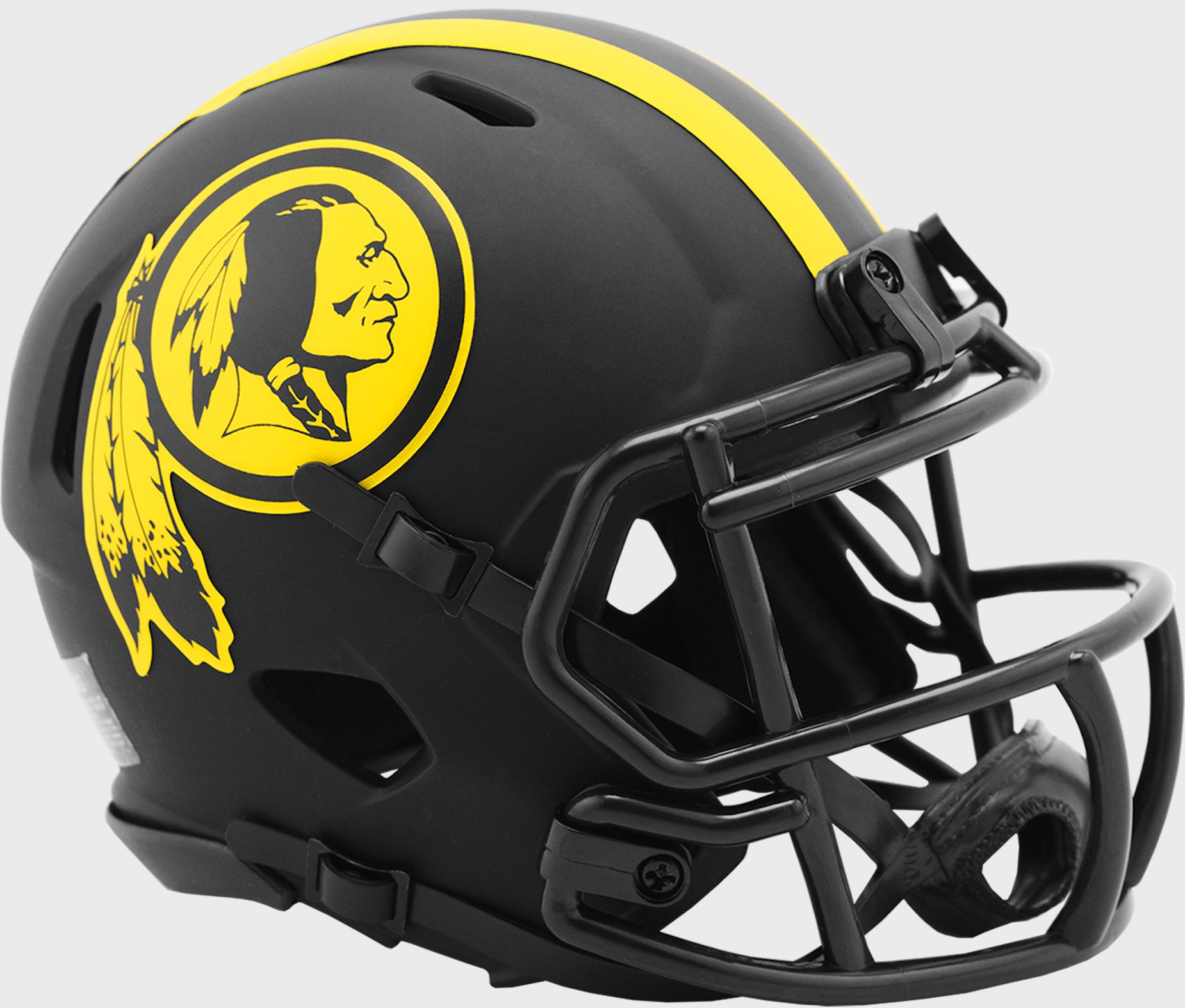 Washington Redskins NFL Mini Speed Football Helmet <B>ECLIPSE</B>