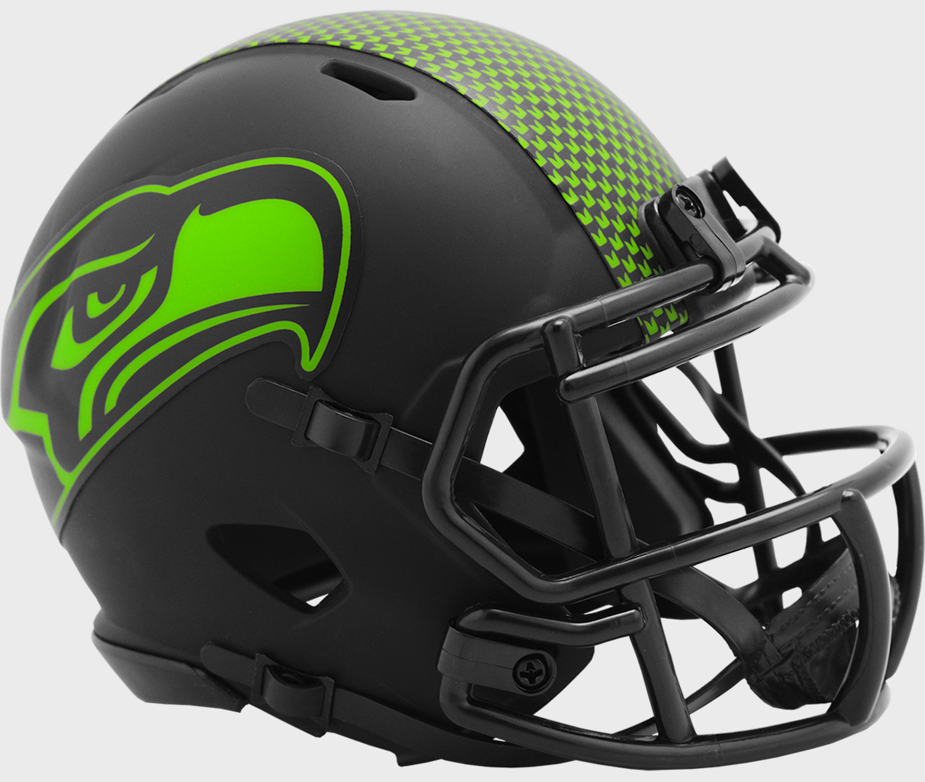 Seattle Seahawks NFL Mini Speed Football Helmet <B>ECLIPSE</B>