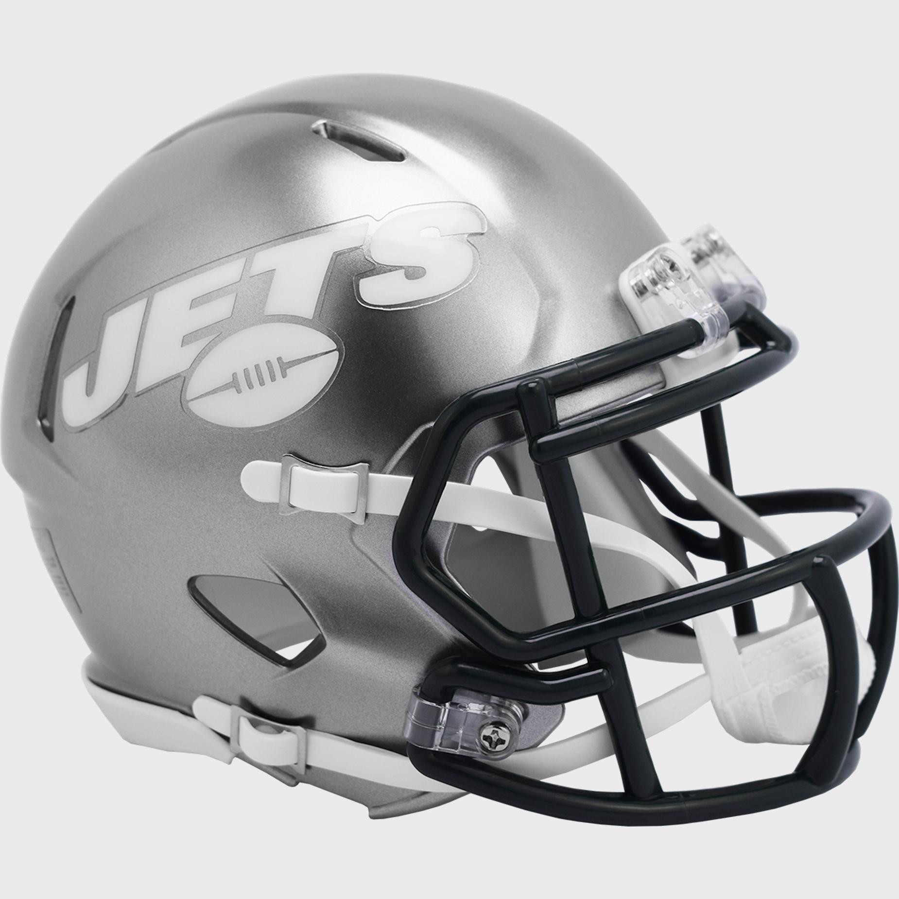 New York Jets Speed Mini Football Helmet <B>FLASH ESD 8/21/21</B>