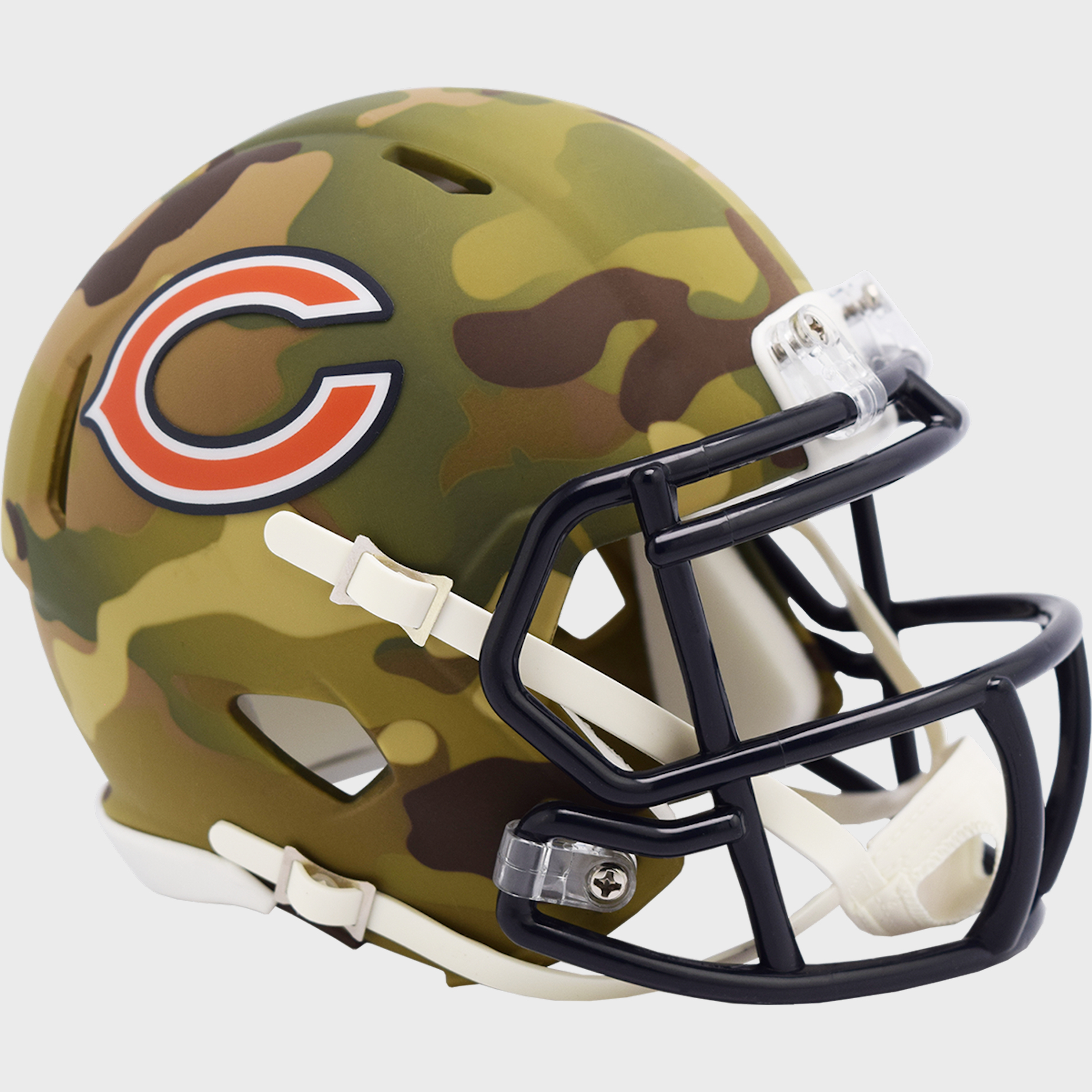 Chicago Bears NFL Mini Speed Football Helmet <B>CAMO</B>