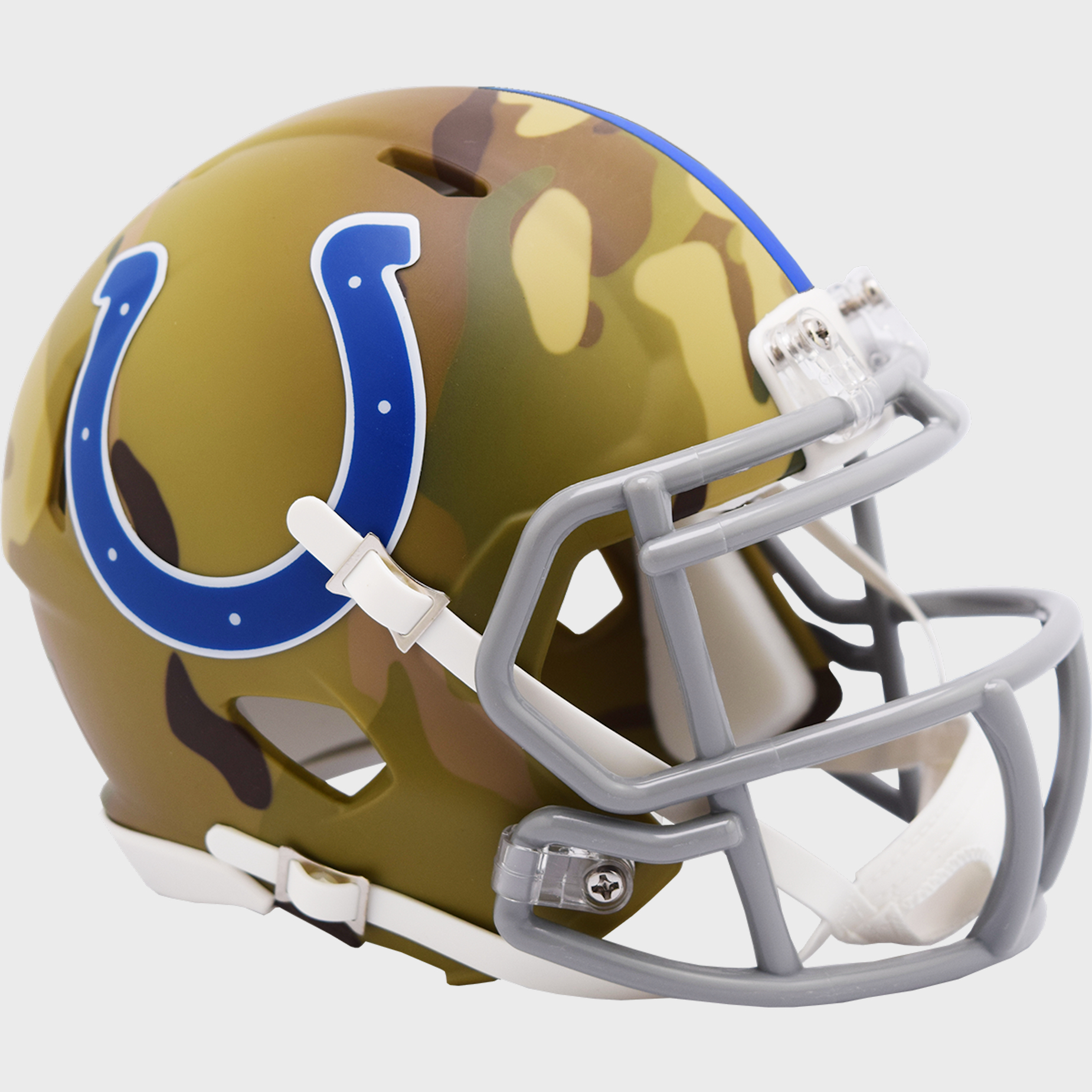 Indianapolis Colts NFL Mini Speed Football Helmet <B>CAMO</B>