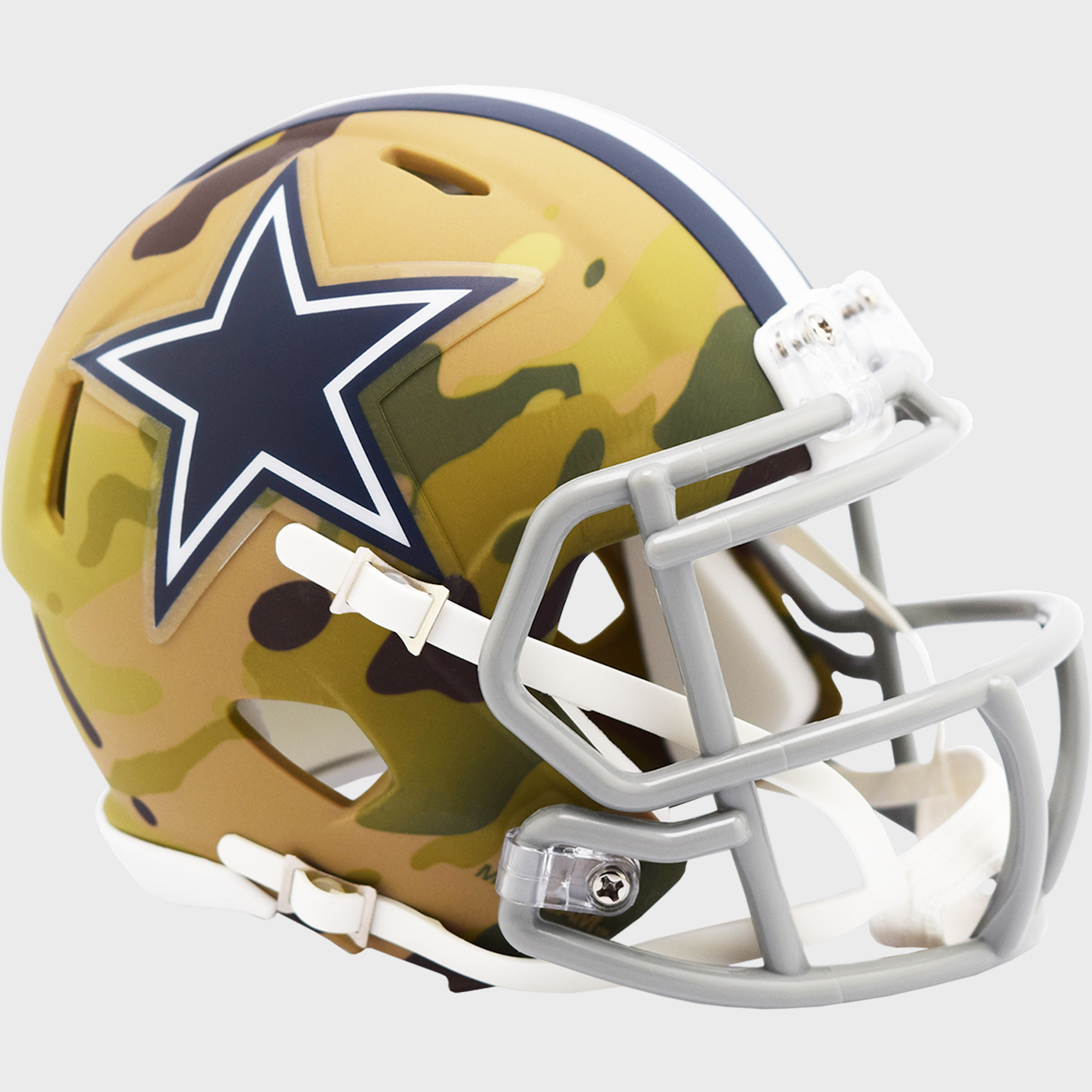 Dallas Cowboys NFL Mini Speed Football Helmet <B>CAMO</B>