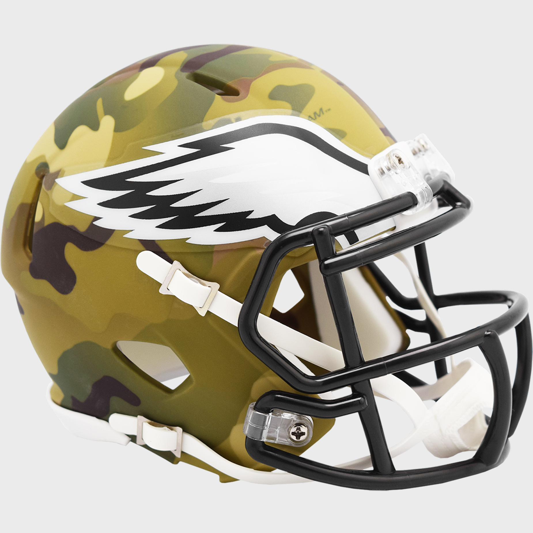 Philadelphia Eagles NFL Mini Speed Football Helmet <B>CAMO</B>