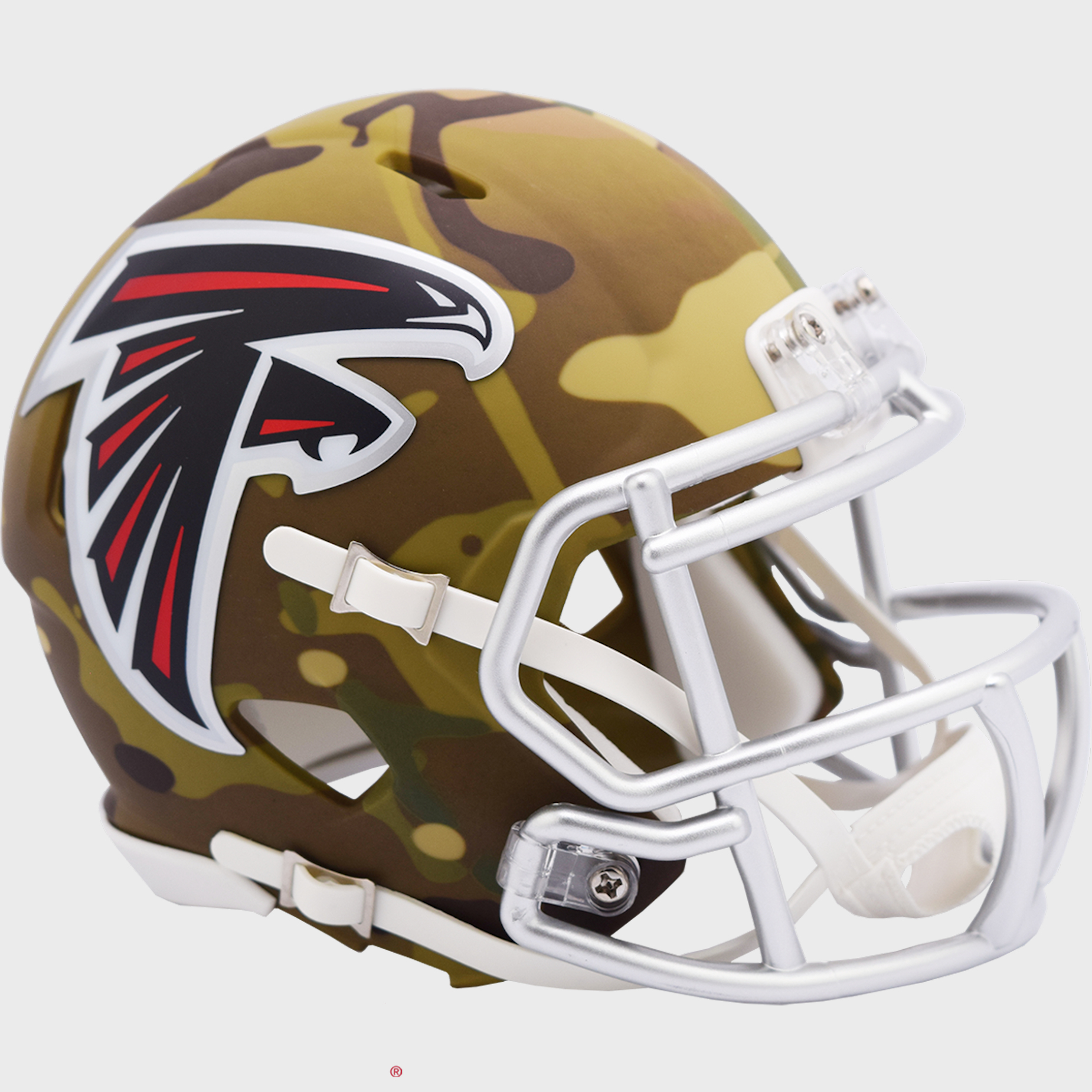 Atlanta Falcons NFL Mini Speed Football Helmet <B>CAMO</B>