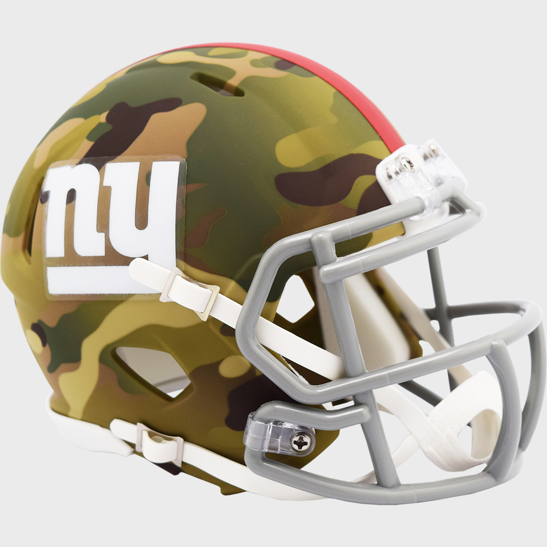 New York Giants NFL Mini Speed Football Helmet <B>CAMO</B>