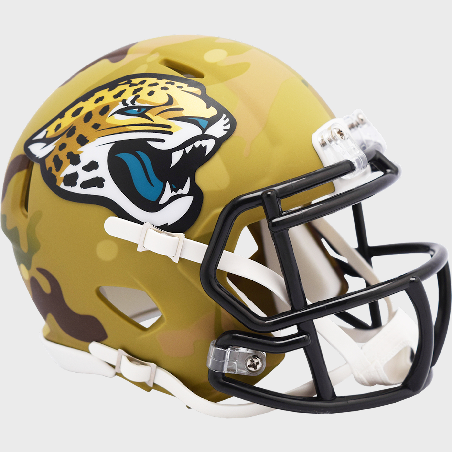 Jacksonville Jaguars NFL Mini Speed Football Helmet <B>CAMO</B>