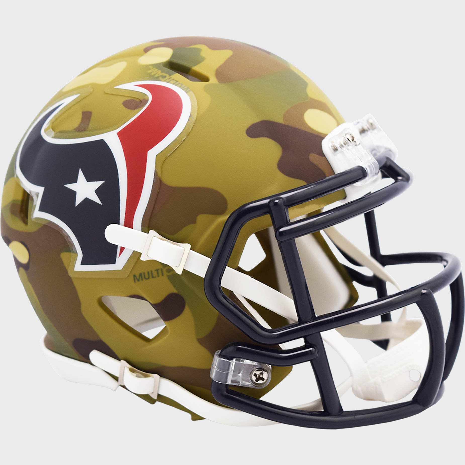 Houston Texans NFL Mini Speed Football Helmet <B>CAMO</B>
