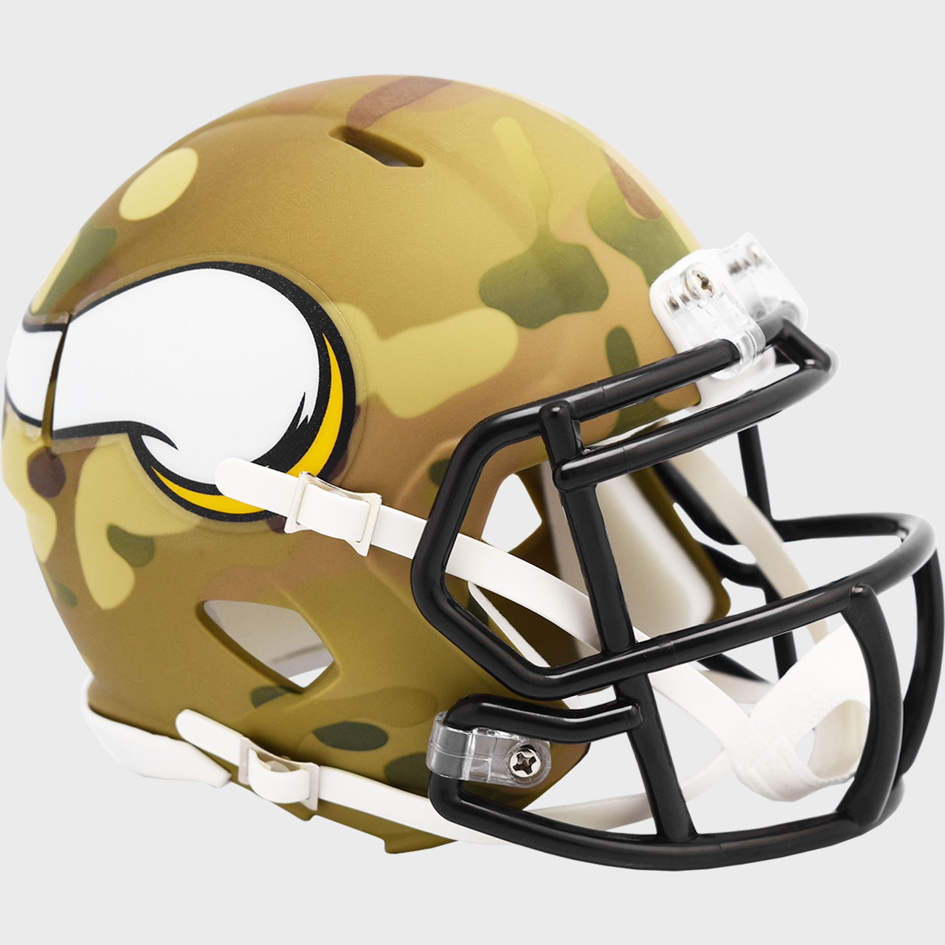 Minnesota Vikings NFL Mini Speed Football Helmet <B>CAMO</B>