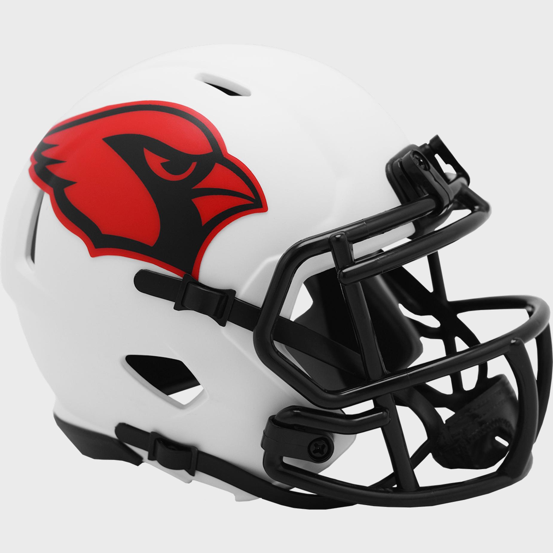 Arizona Cardinals NFL Mini Speed Football Helmet <B>LUNAR ECLIPSE</B>
