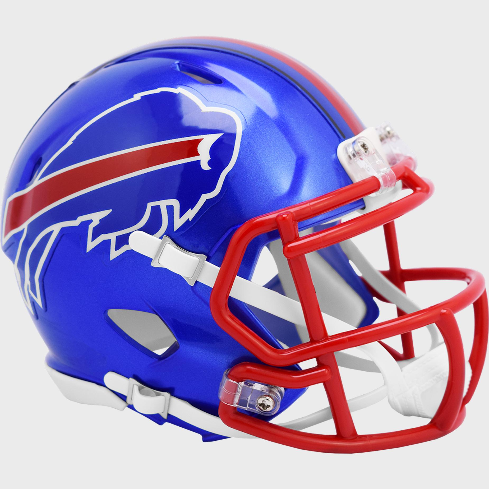 Buffalo Bills Speed Mini Football Helmet <B>FLASH ESD 8/21/21</B>