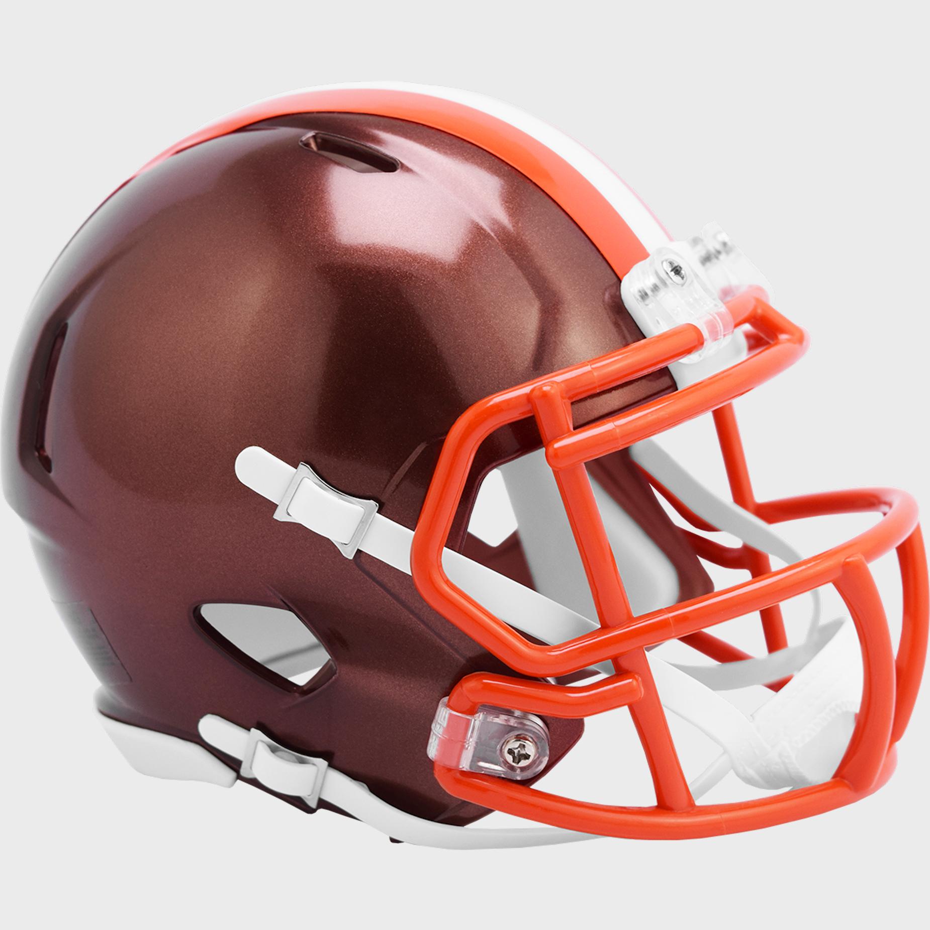 Cleveland Browns Speed Mini Football Helmet <B>FLASH ESD 8/21/21</B>