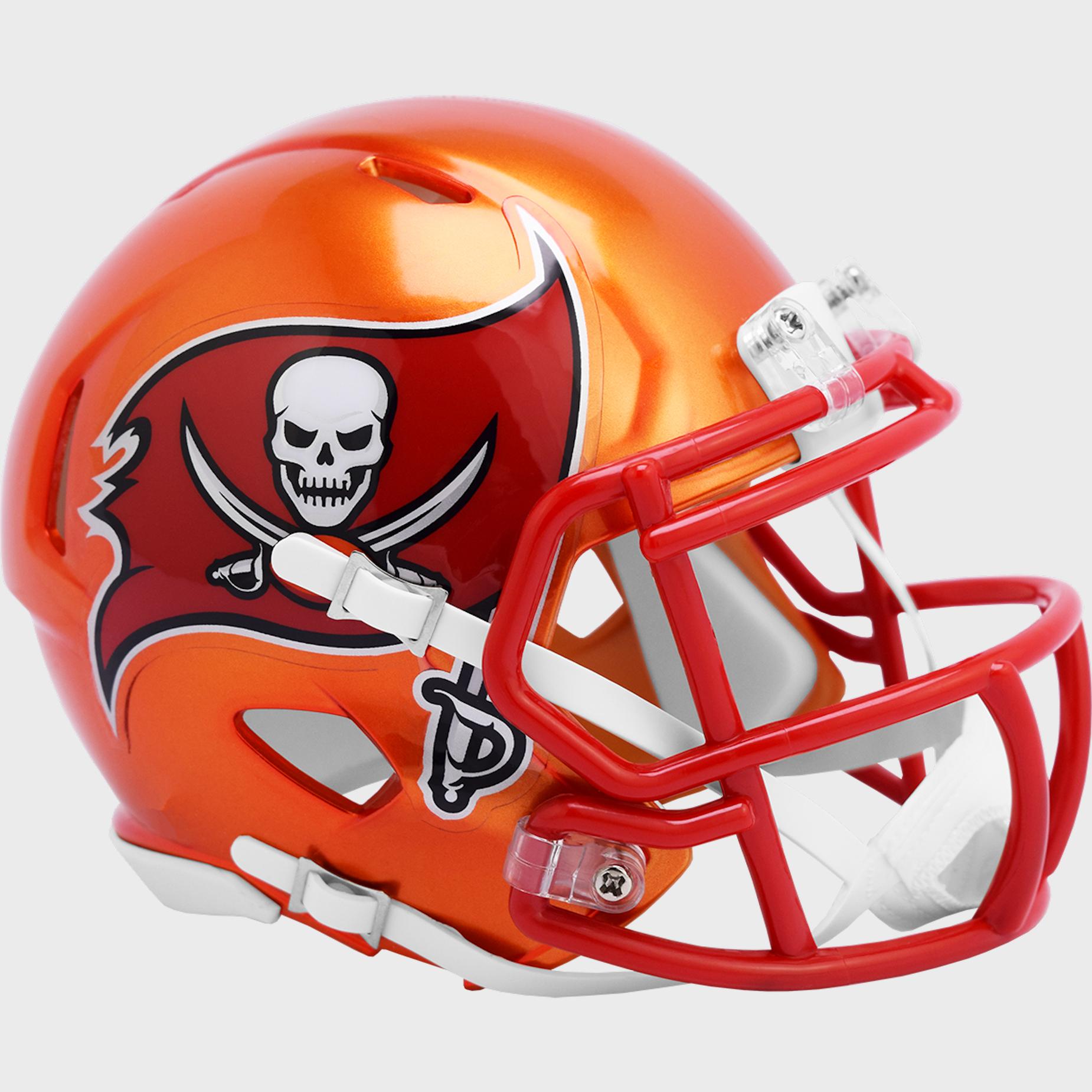 Tampa Bay Buccaneers Speed Mini Football Helmet <B>FLASH ESD 8/21/21</B>