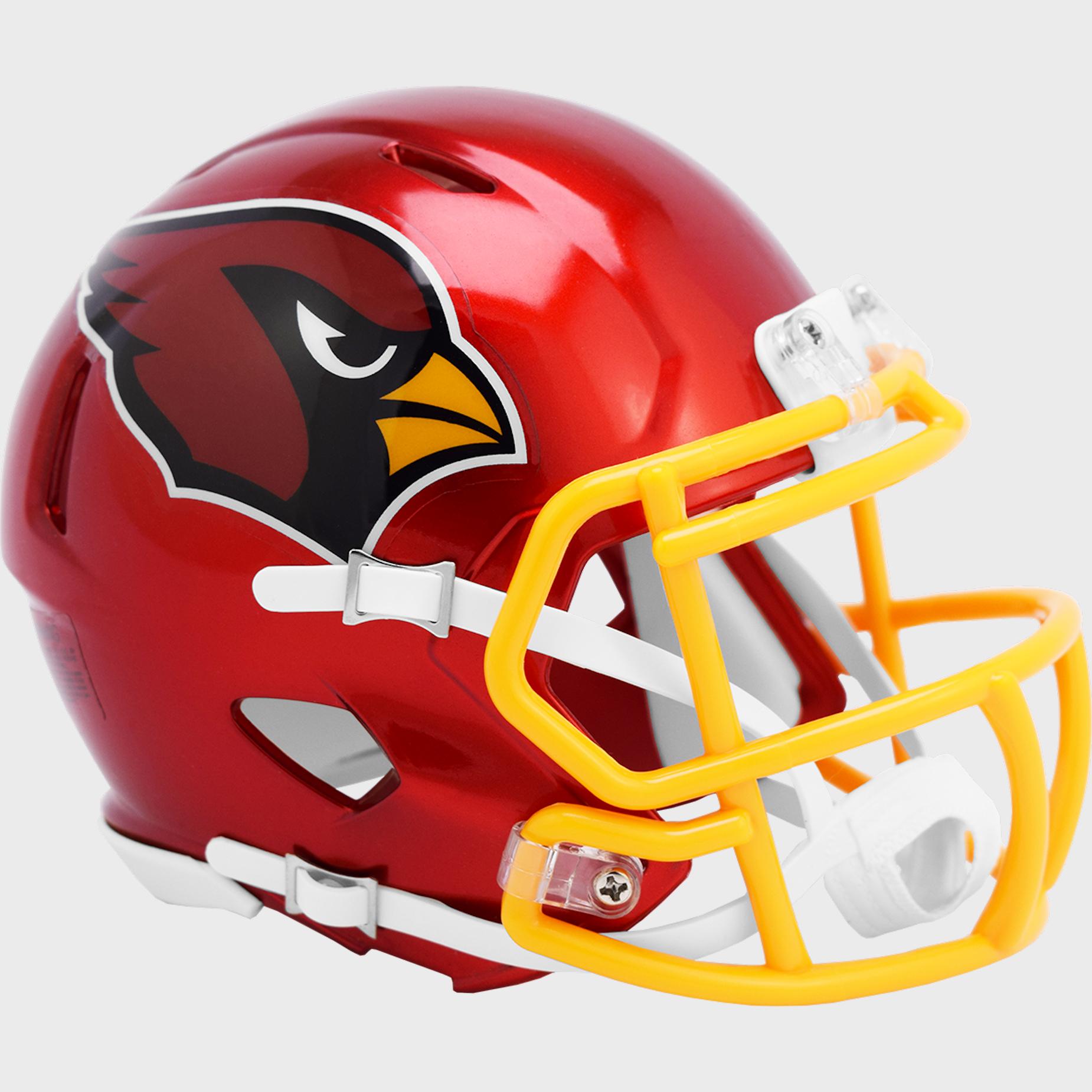 Arizona Cardinals Speed Mini Football Helmet <B>FLASH ESD 8/21/21</B>