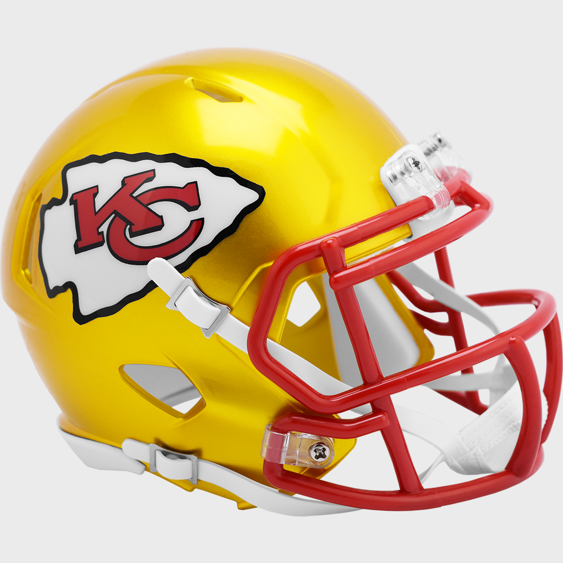 Kansas City Chiefs Speed Mini Football Helmet <B>FLASH ESD 8/21/21</B>