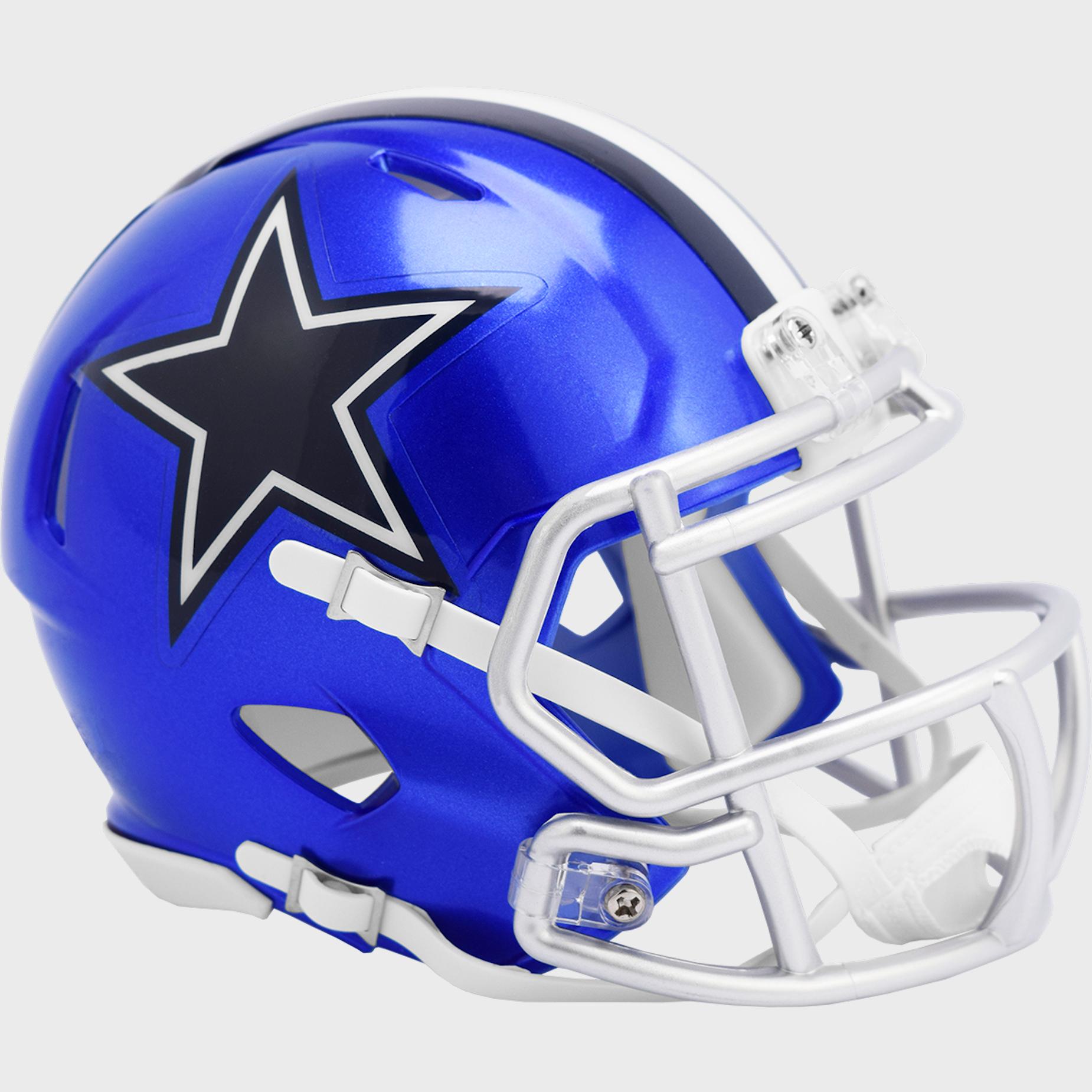 Dallas Cowboys Speed Mini Football Helmet <B>FLASH ESD 8/21/21</B>