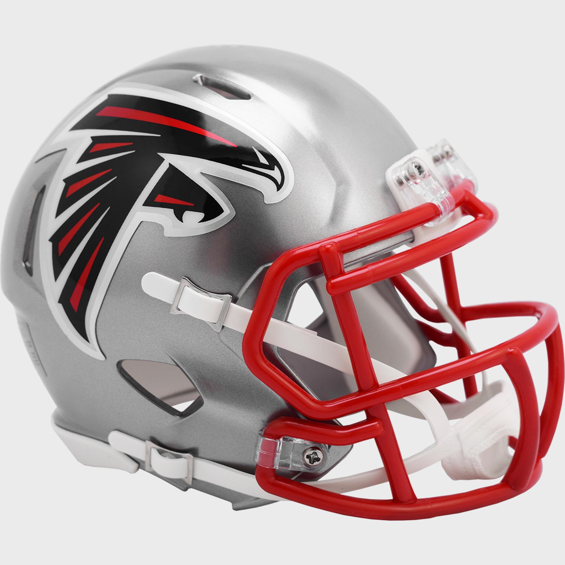 Atlanta Falcons Speed Mini Football Helmet <B>FLASH ESD 8/21/21</B>