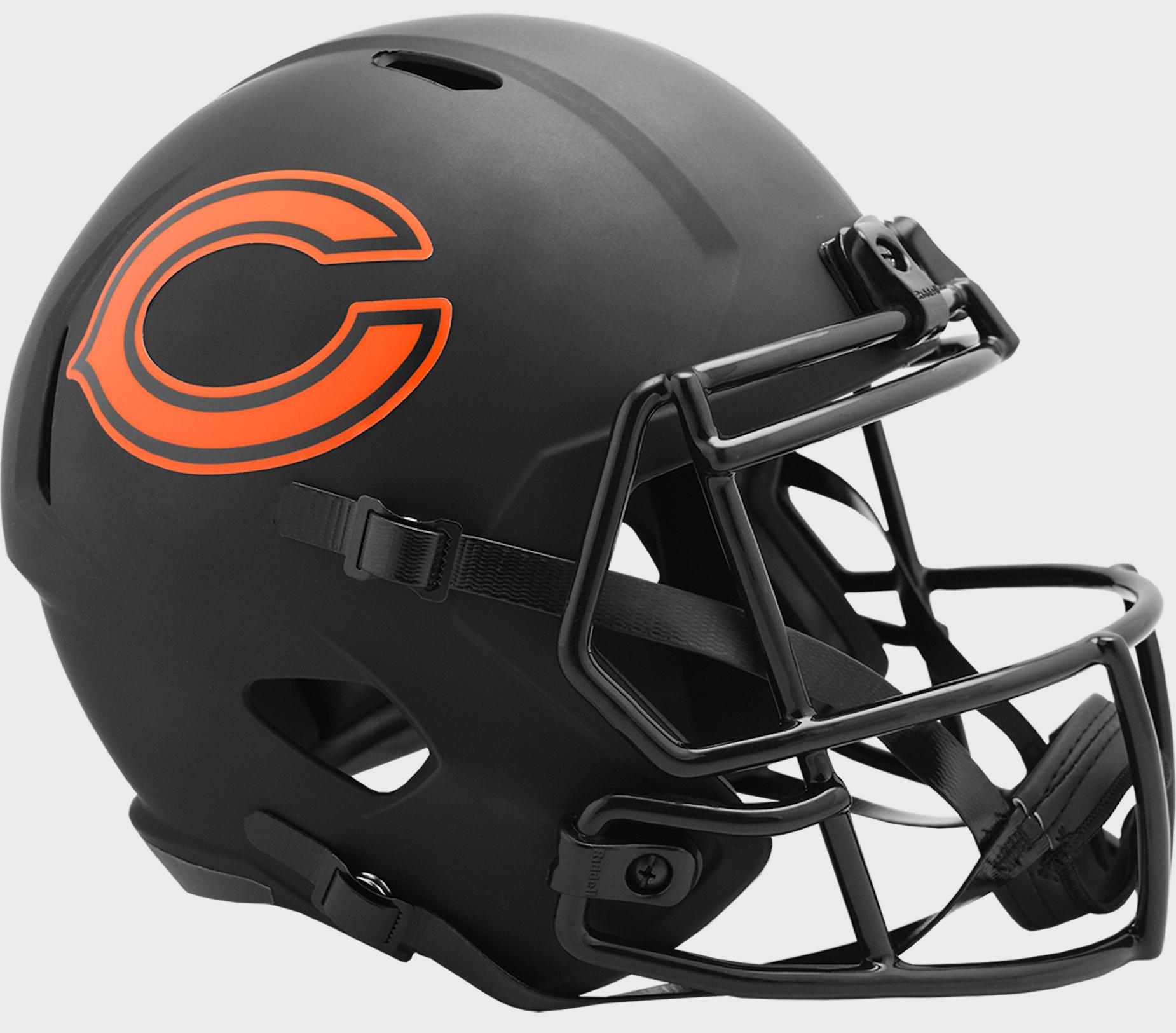 Chicago Bears Speed Replica Football Helmet <B>ECLIPSE</B>