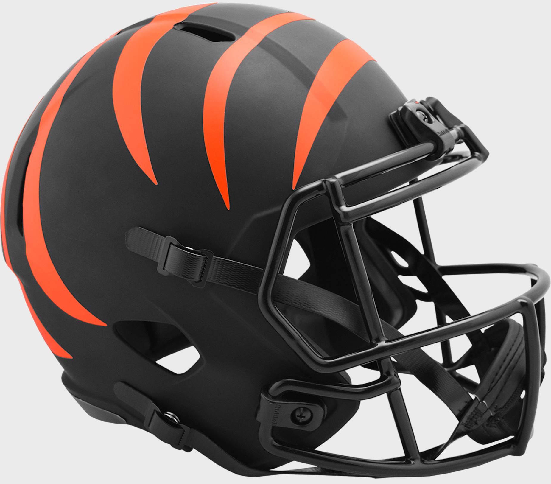 Cincinnati Bengals Speed Replica Football Helmet <B>ECLIPSE</B>