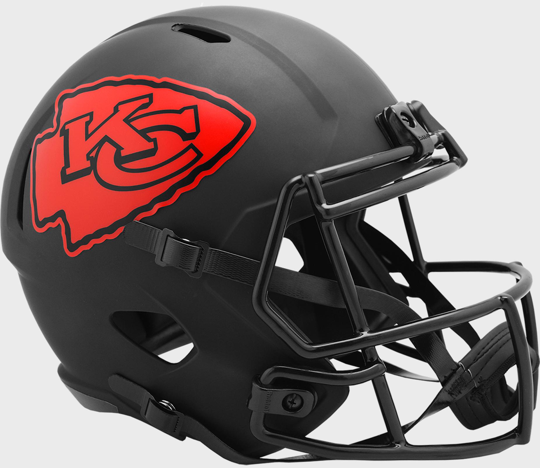Kansas City Chiefs Speed Replica Football Helmet <B>ECLIPSE </B>