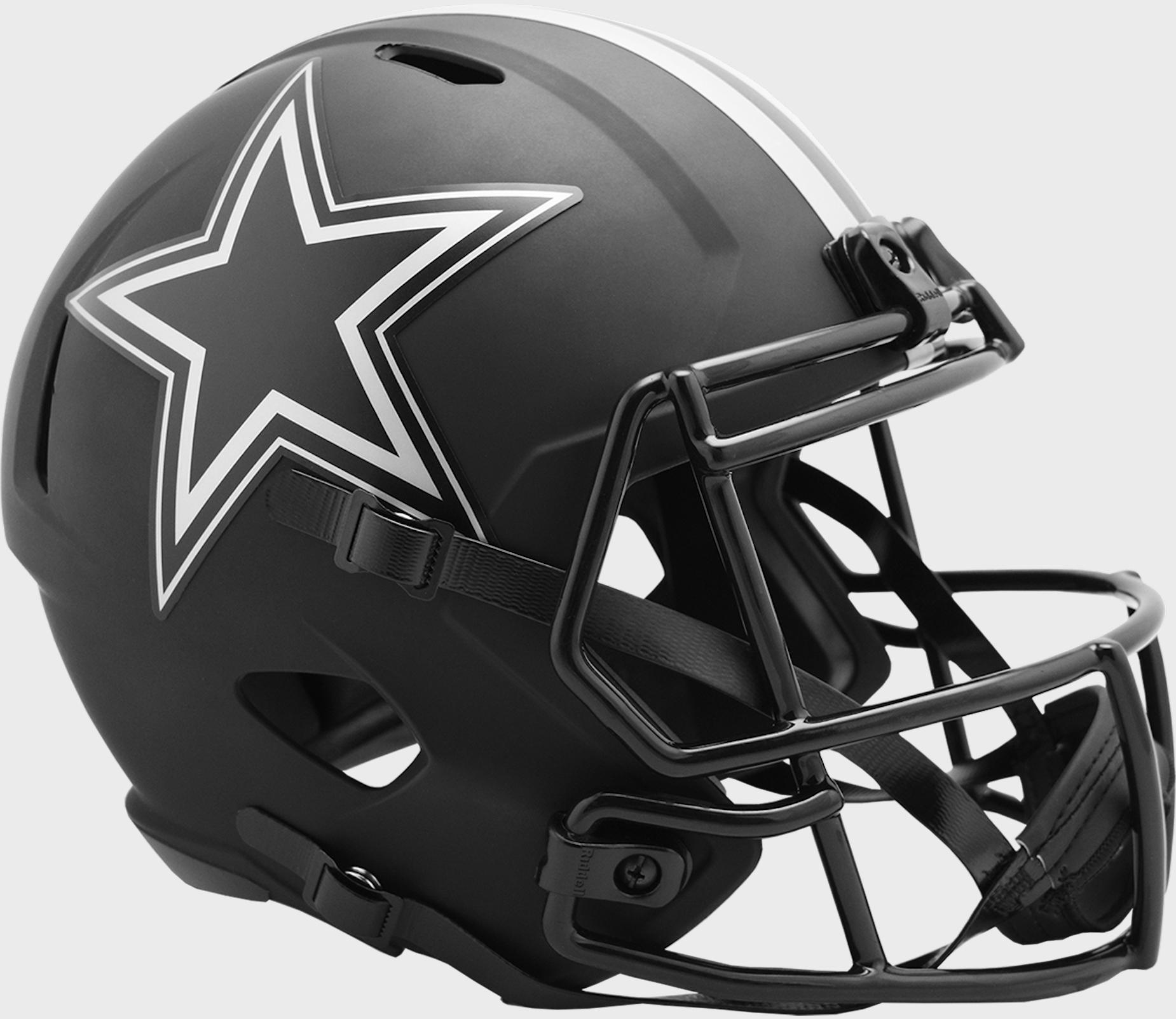 Dallas Cowboys Speed Replica Football Helmet <B>ECLIPSE</B>