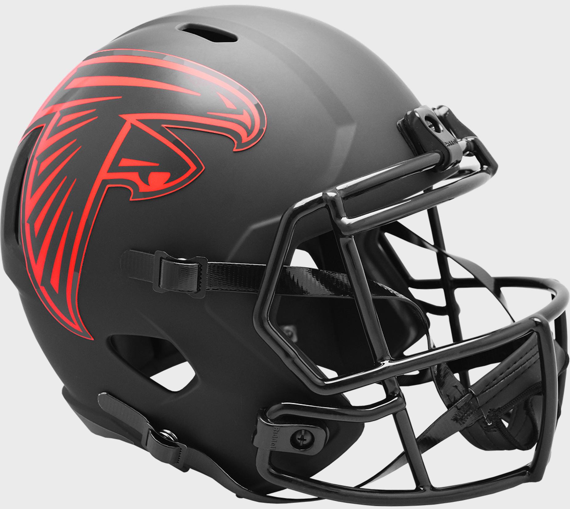 Atlanta Falcons Speed Replica Football Helmet <B>ECLIPSE</B>