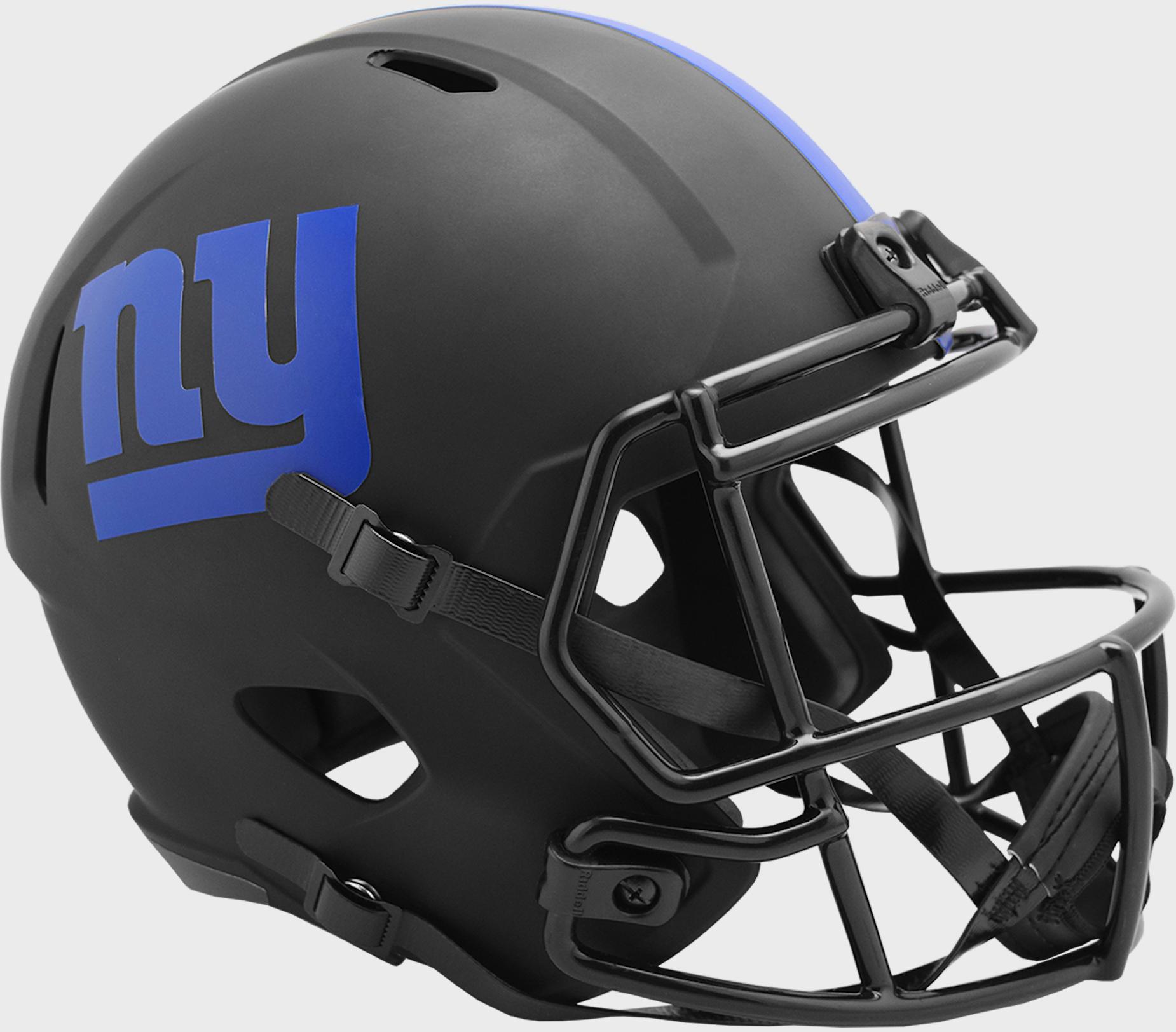 New York Giants Speed Replica Football Helmet <B>ECLIPSE </B>