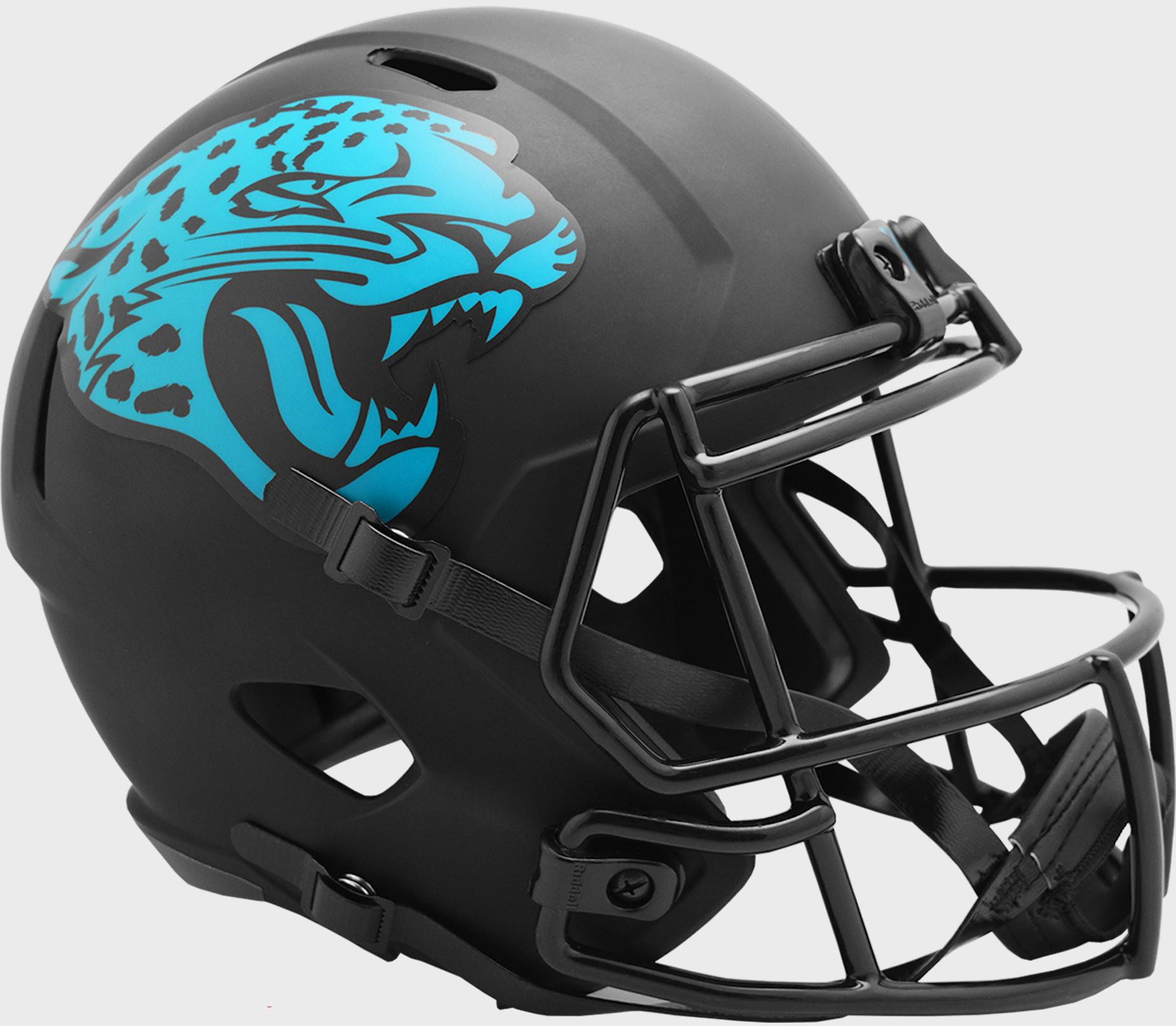 Jacksonville Jaguars Speed Replica Football Helmet <B>ECLIPSE </B>