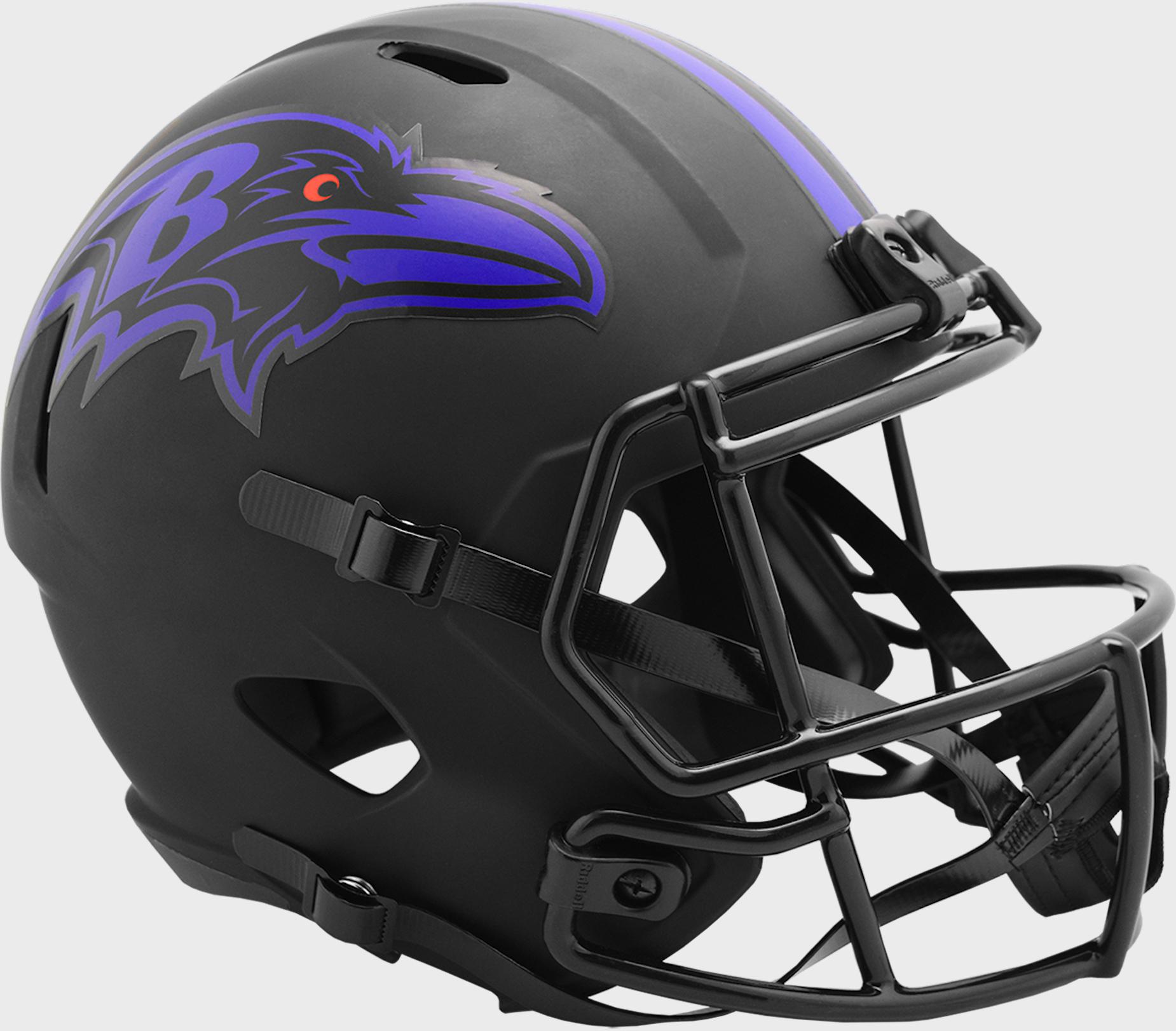 Baltimore Ravens Speed Replica Football Helmet <B>ECLIPSE </B>