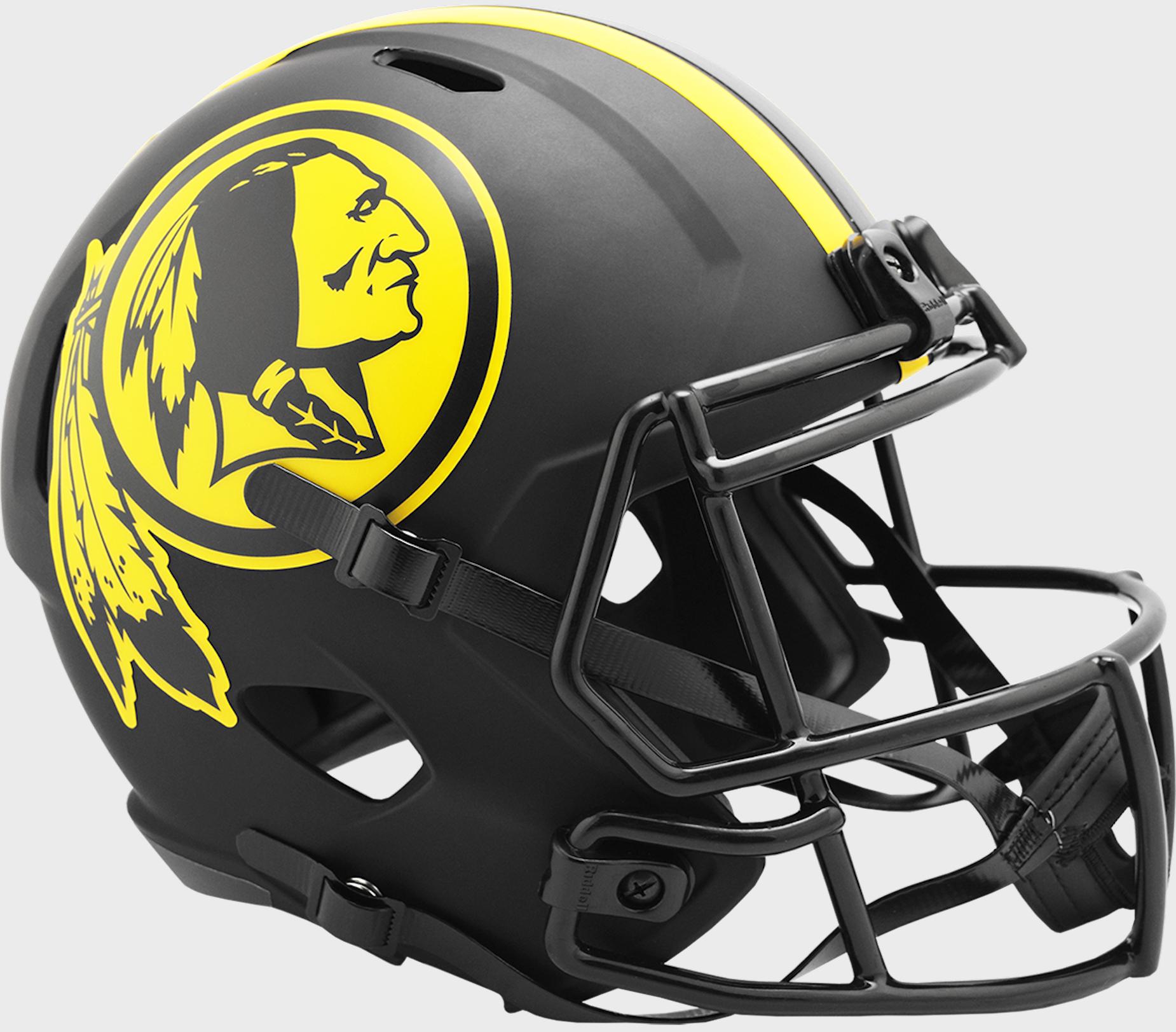 Washington Redskins Speed Replica Football Helmet <B>ECLIPSE </B>