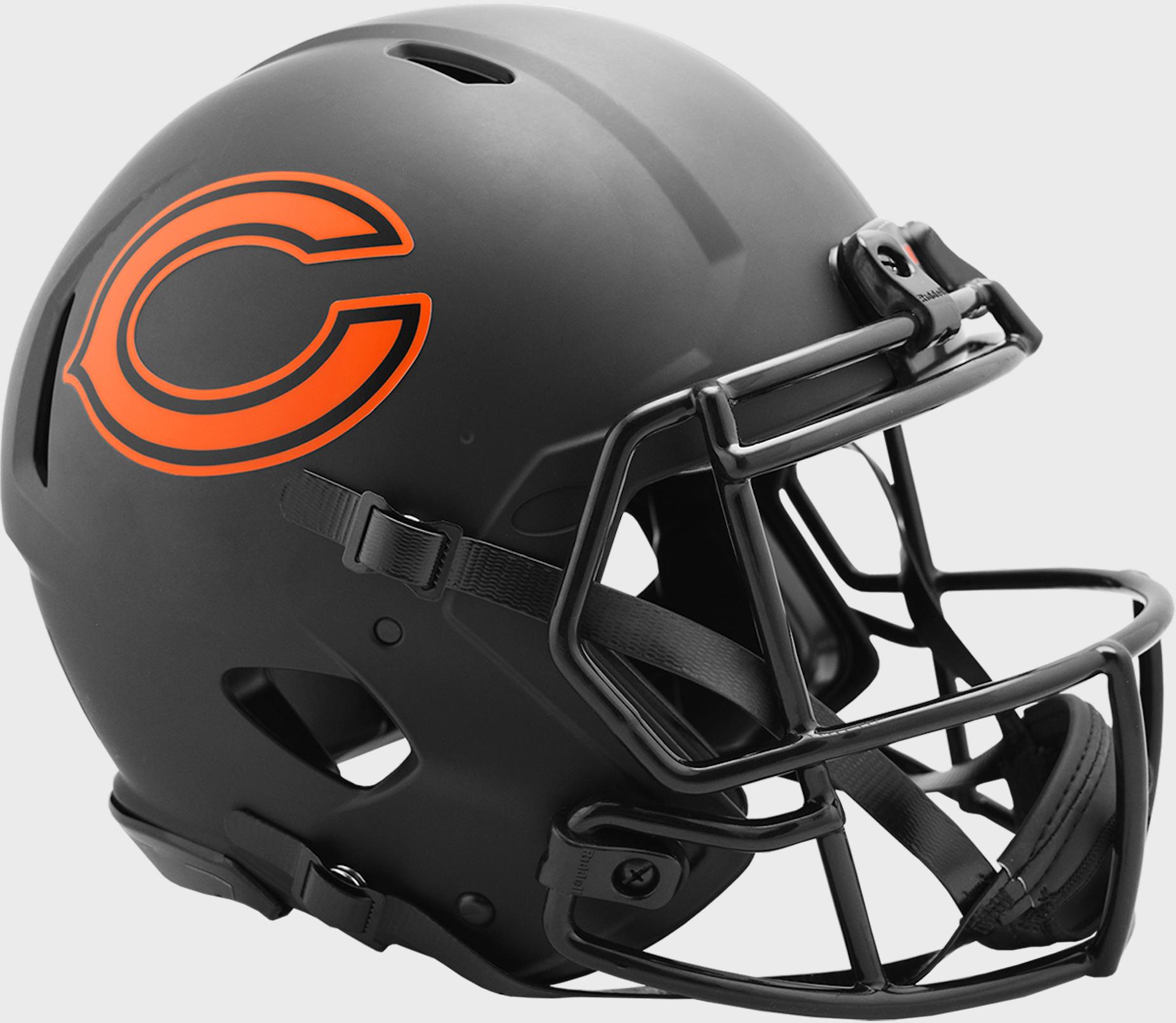 Chicago Bears Speed Football Helmet <B>ECLIPSE</B>