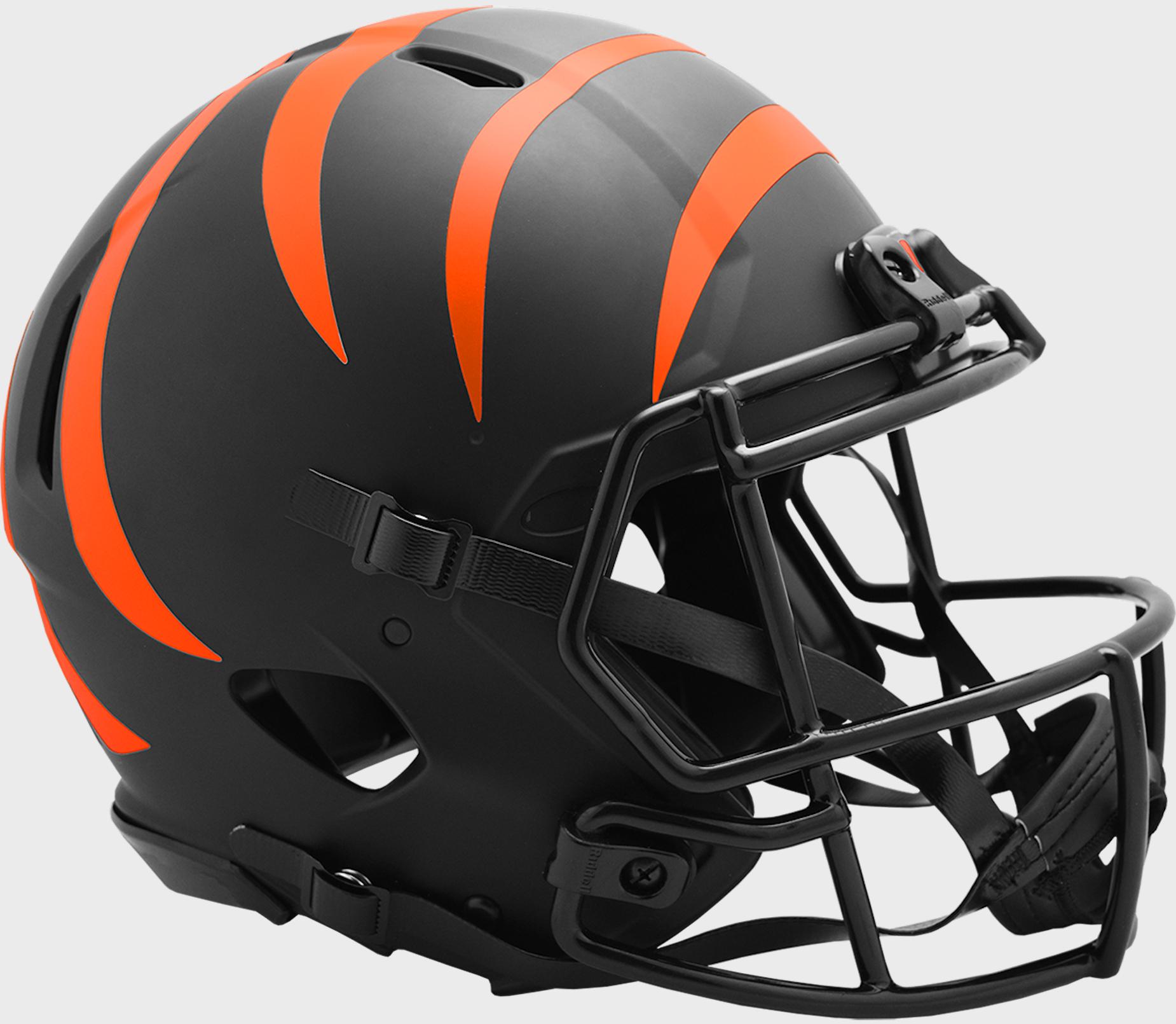 Cincinnati Bengals Speed Football Helmet <B>ECLIPSE</B>