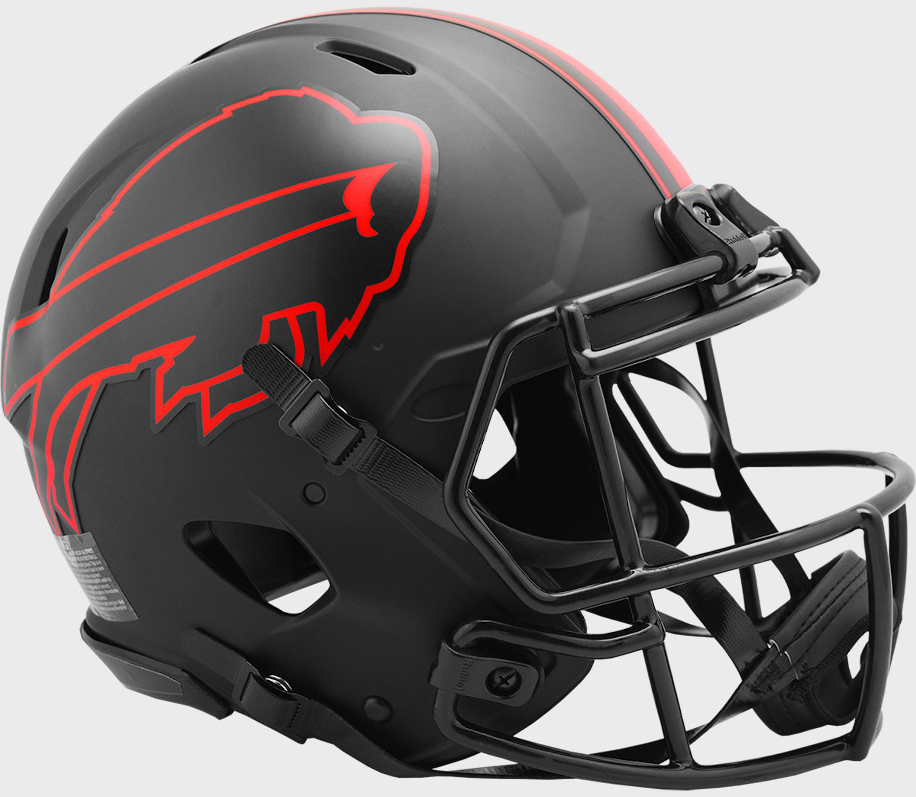 Buffalo Bills Speed Football Helmet <B>ECLIPSE</B>