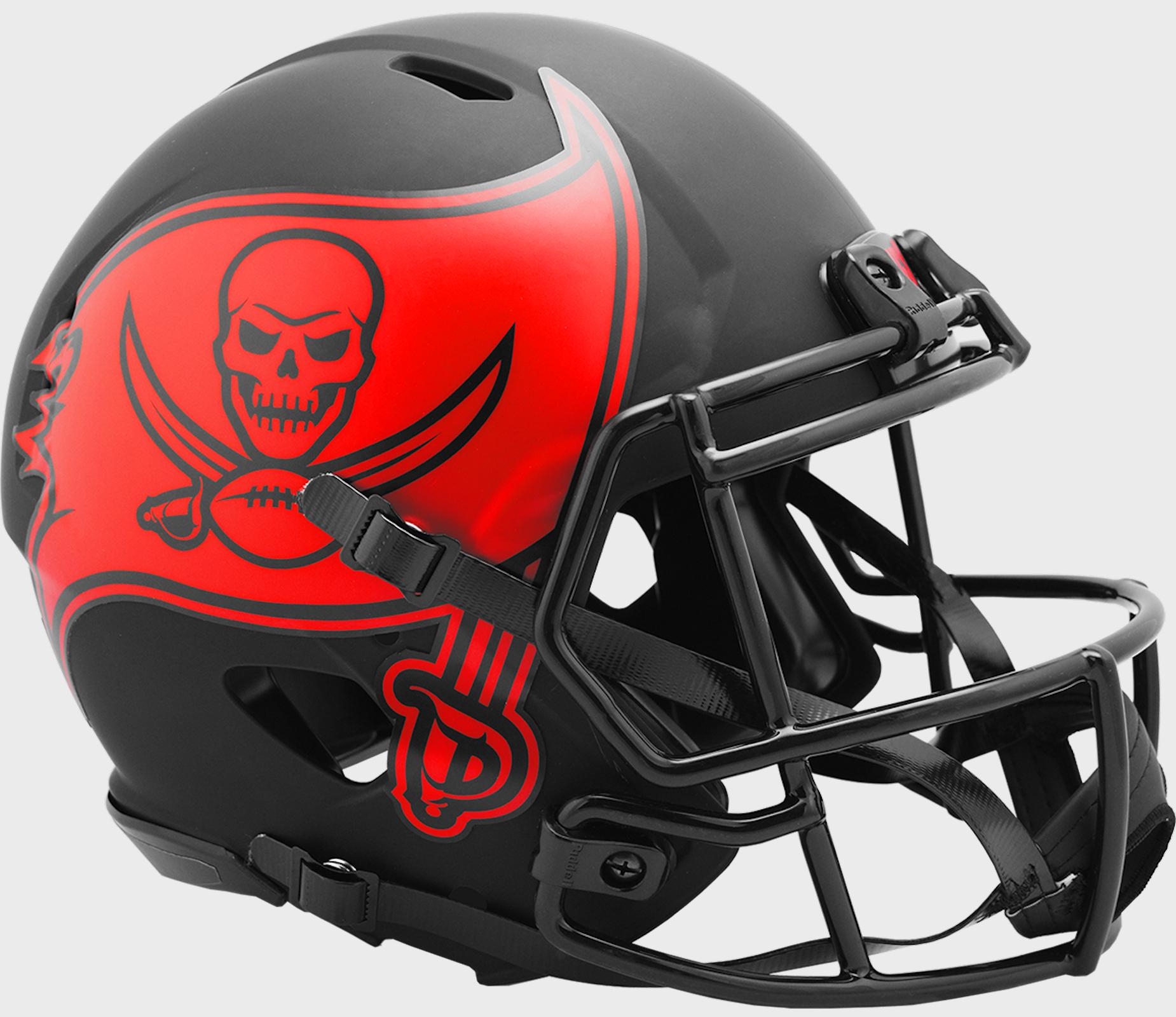 Tampa Bay Buccaneers Speed Football Helmet <B>ECLIPSE</B>