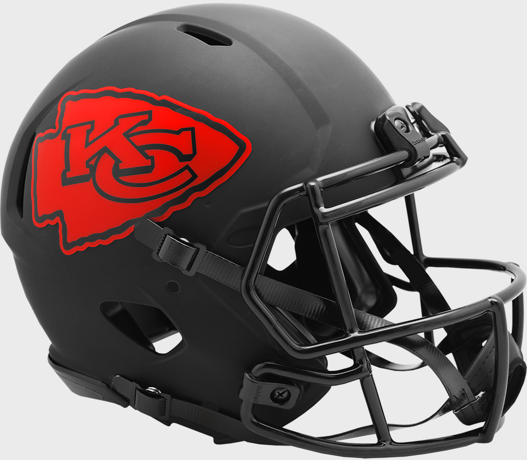 Kansas City Chiefs Speed Football Helmet <B>ECLIPSE</B>