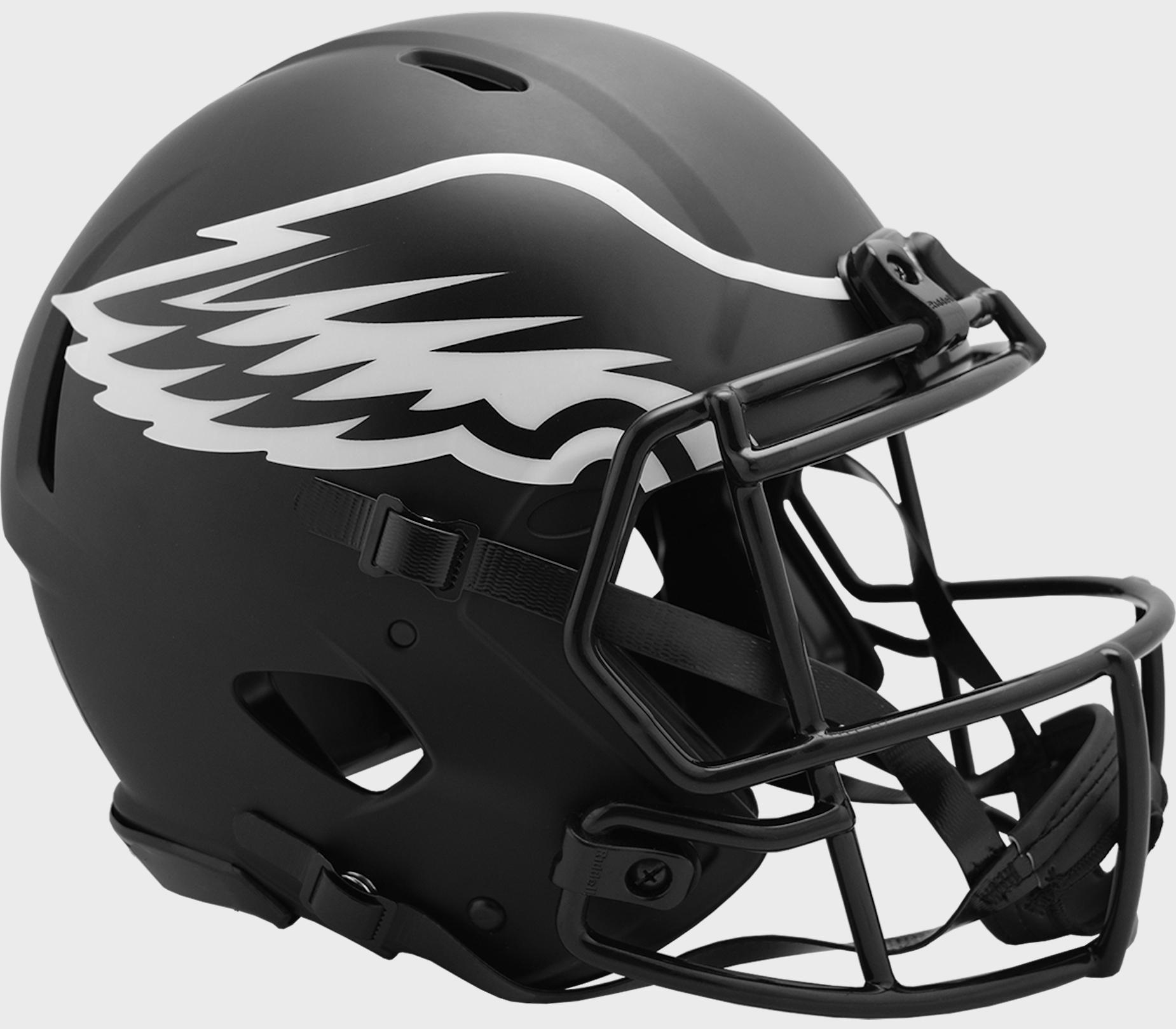 Philadelphia Eagles Speed Football Helmet <B>ECLIPSE</B>
