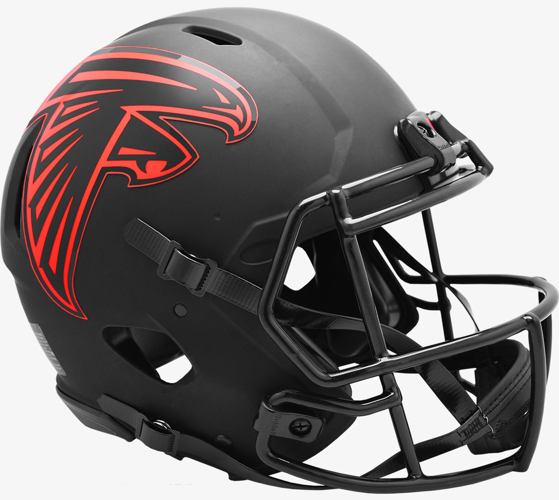 Atlanta Falcons Speed Football Helmet <B>ECLIPSE</B>